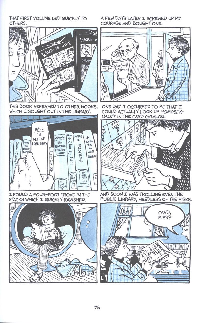 Read online Fun Home: A Family Tragicomic comic -  Issue # TPB - 82