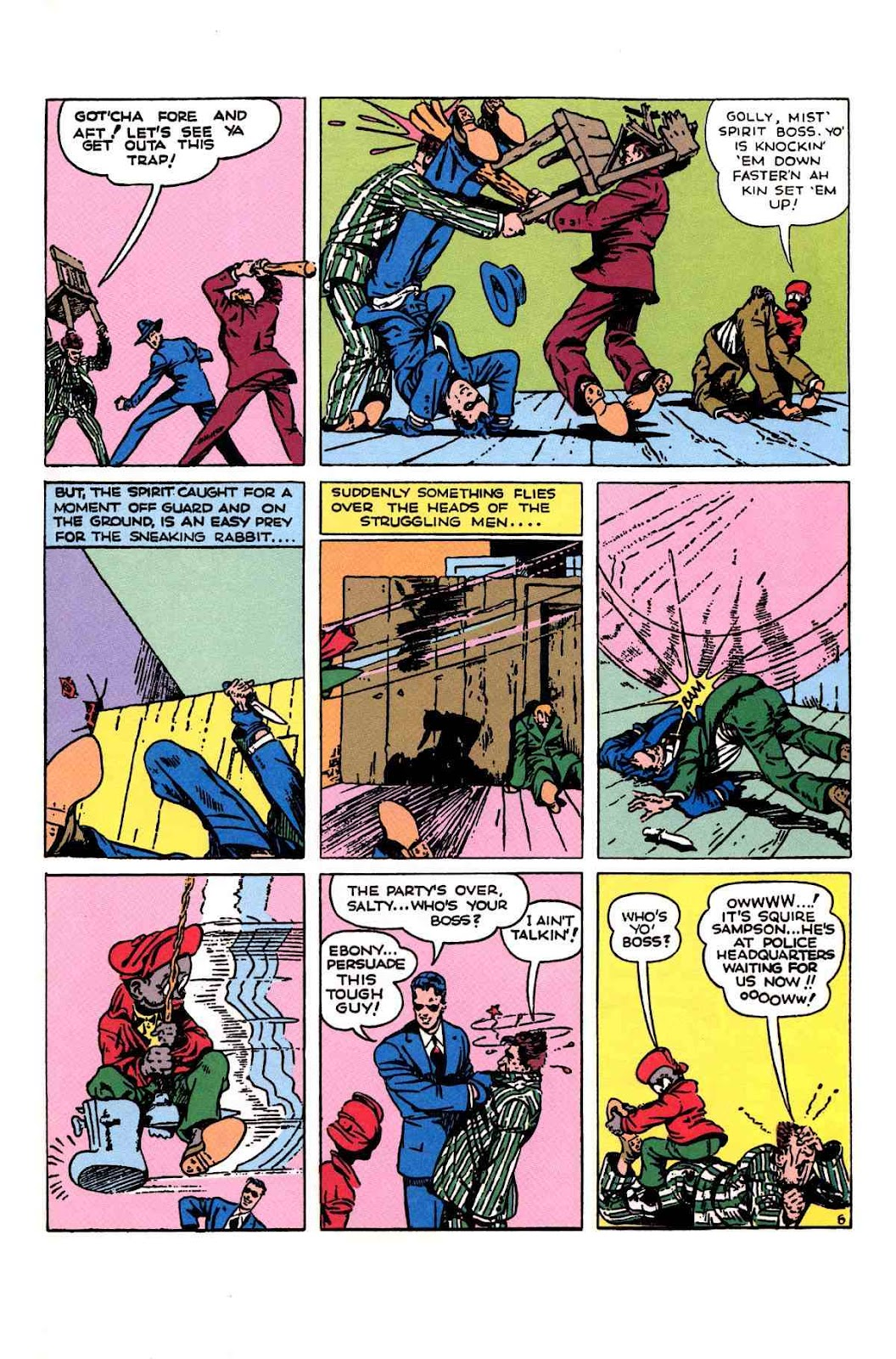 Read online Will Eisner's The Spirit Archives comic -  Issue # TPB 1 (Part 2) - 82