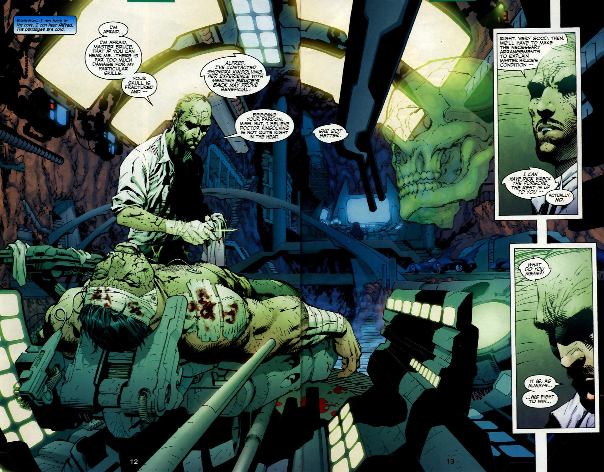 Read online Batman: Hush comic -  Issue #2 - 12