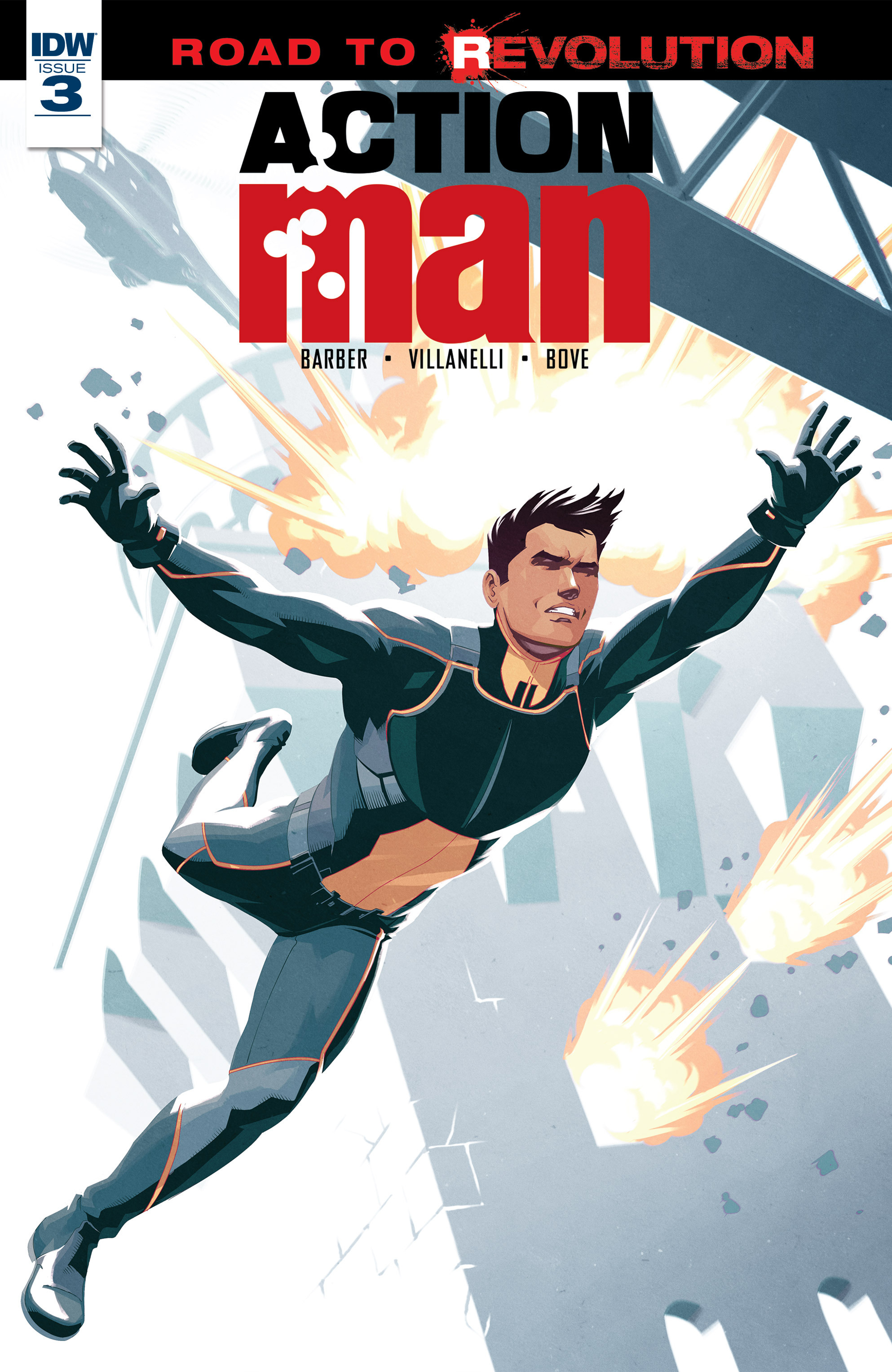 Read online Action Man comic -  Issue #3 - 1