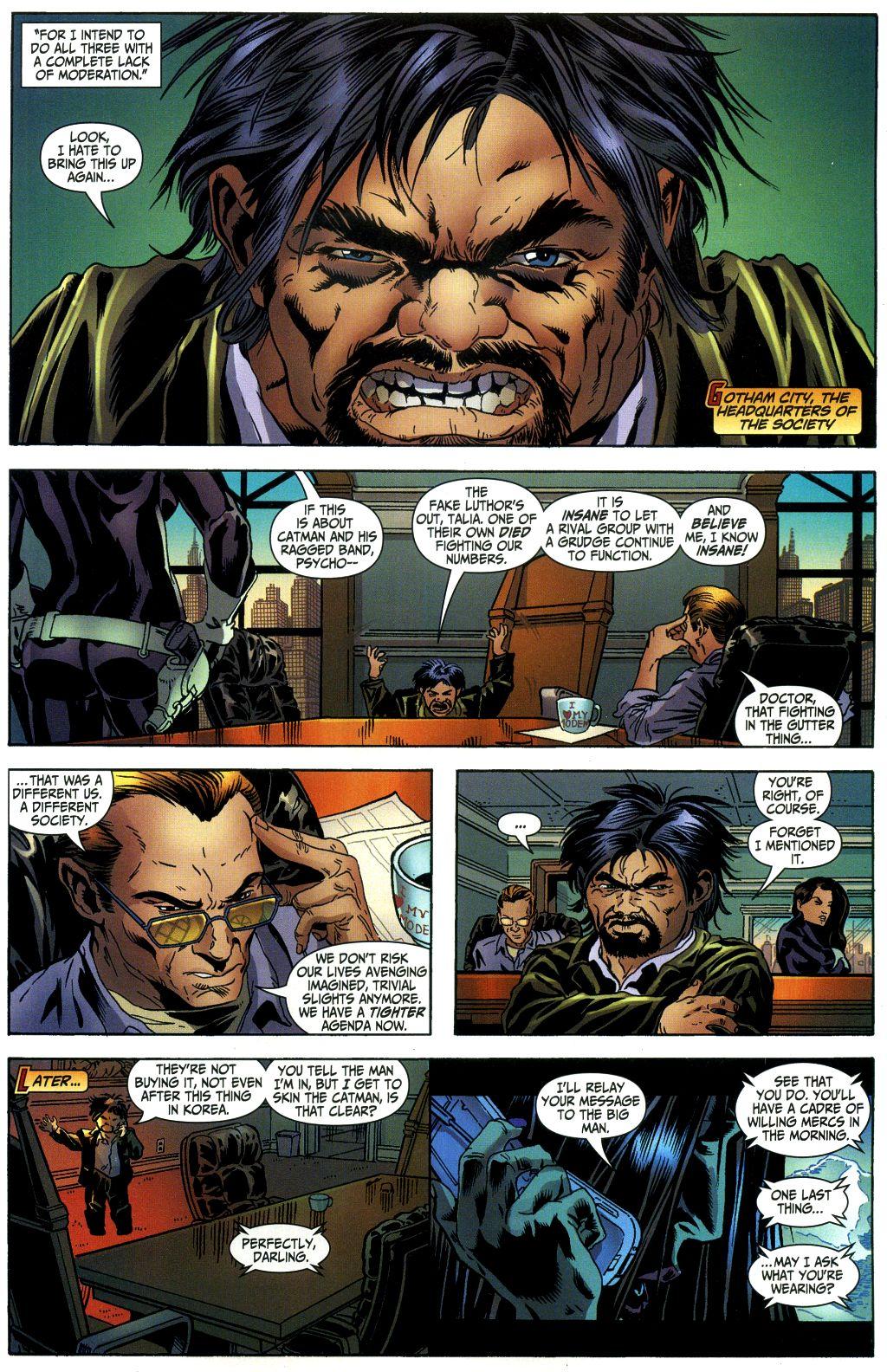 Read online Secret Six (2006) comic -  Issue #1 - 17