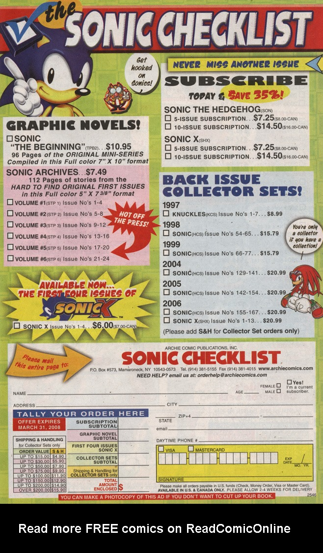 Read online Sonic X comic -  Issue #25 - 13