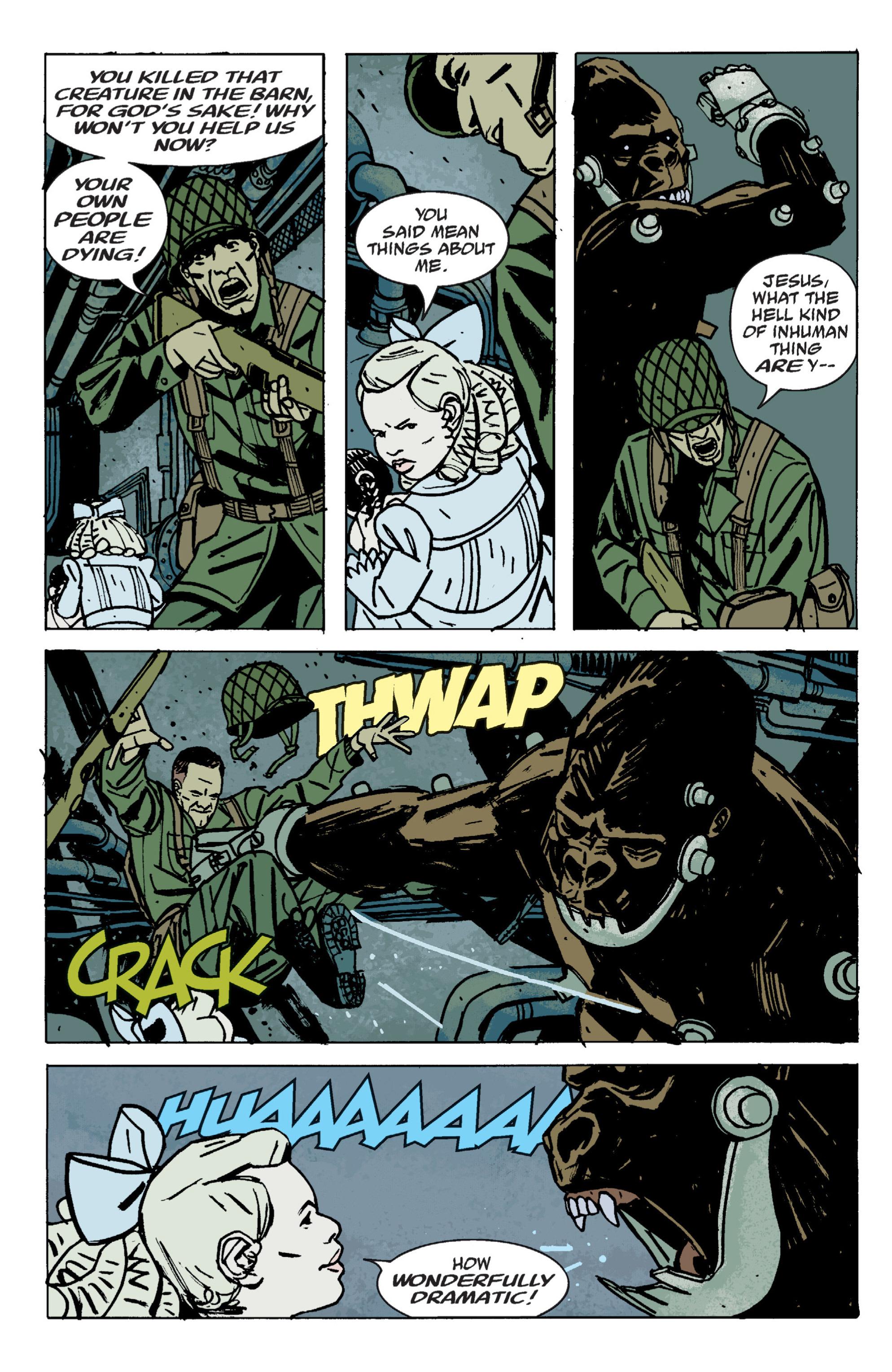 Read online B.P.R.D. (2003) comic -  Issue # TPB 9 - 116