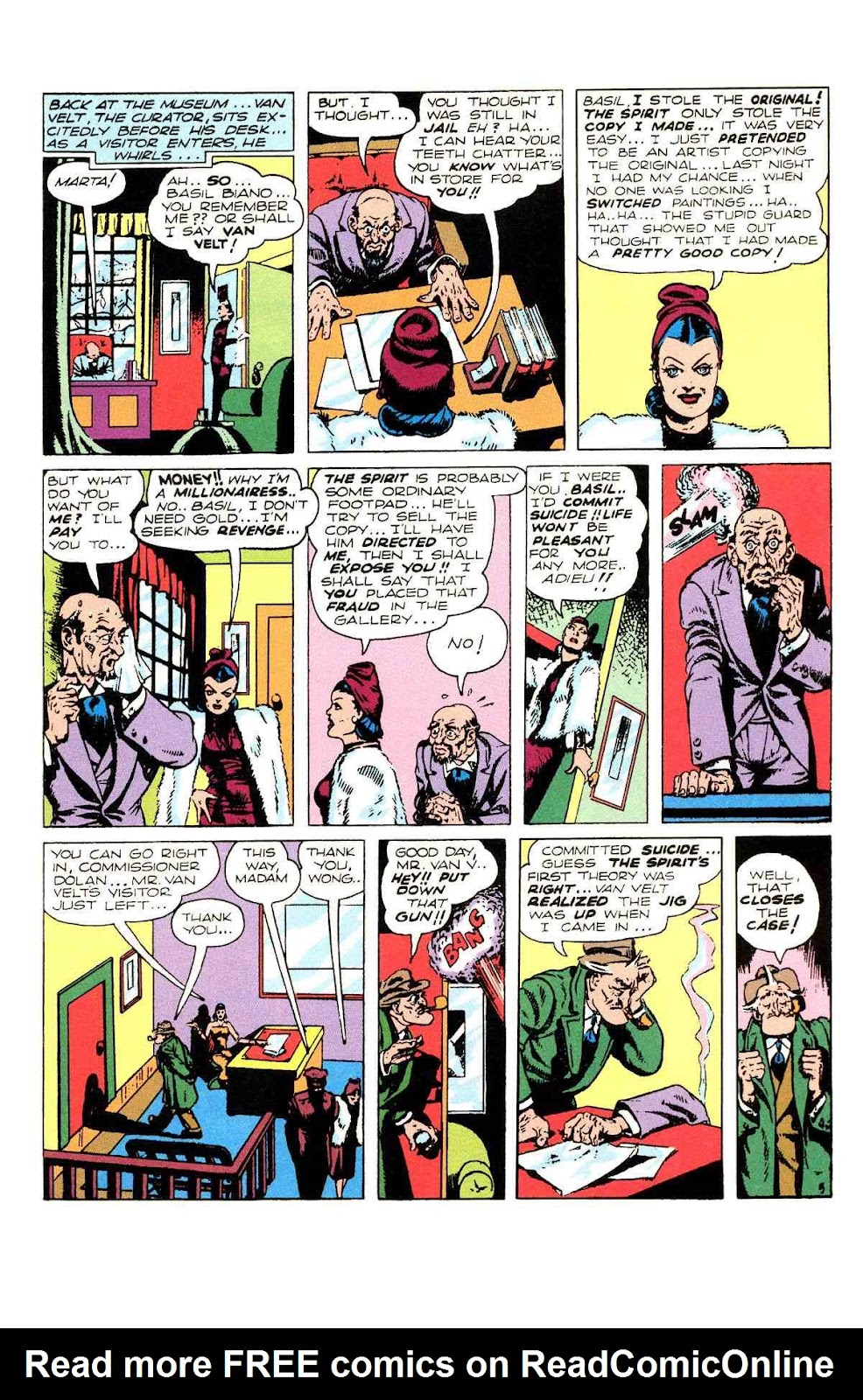Read online Will Eisner's The Spirit Archives comic -  Issue # TPB 2 (Part 2) - 57