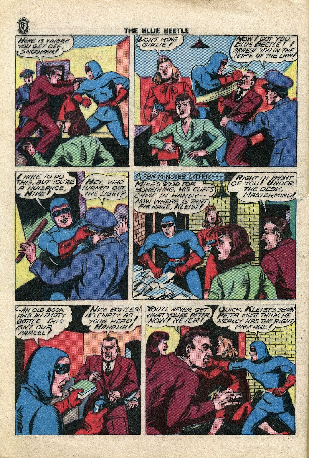 The Blue Beetle issue 34 - Page 7