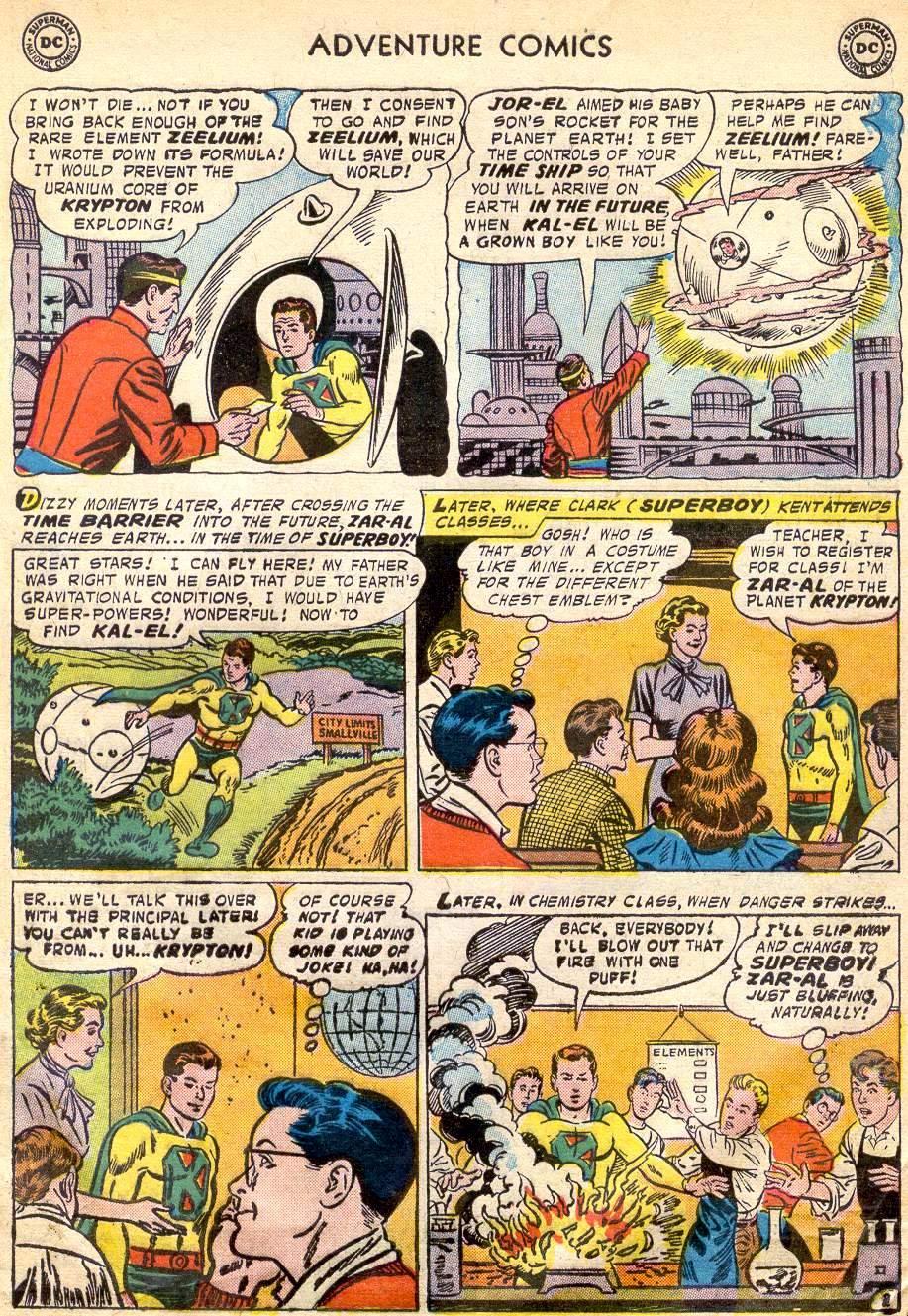 Read online Adventure Comics (1938) comic -  Issue #242 - 5
