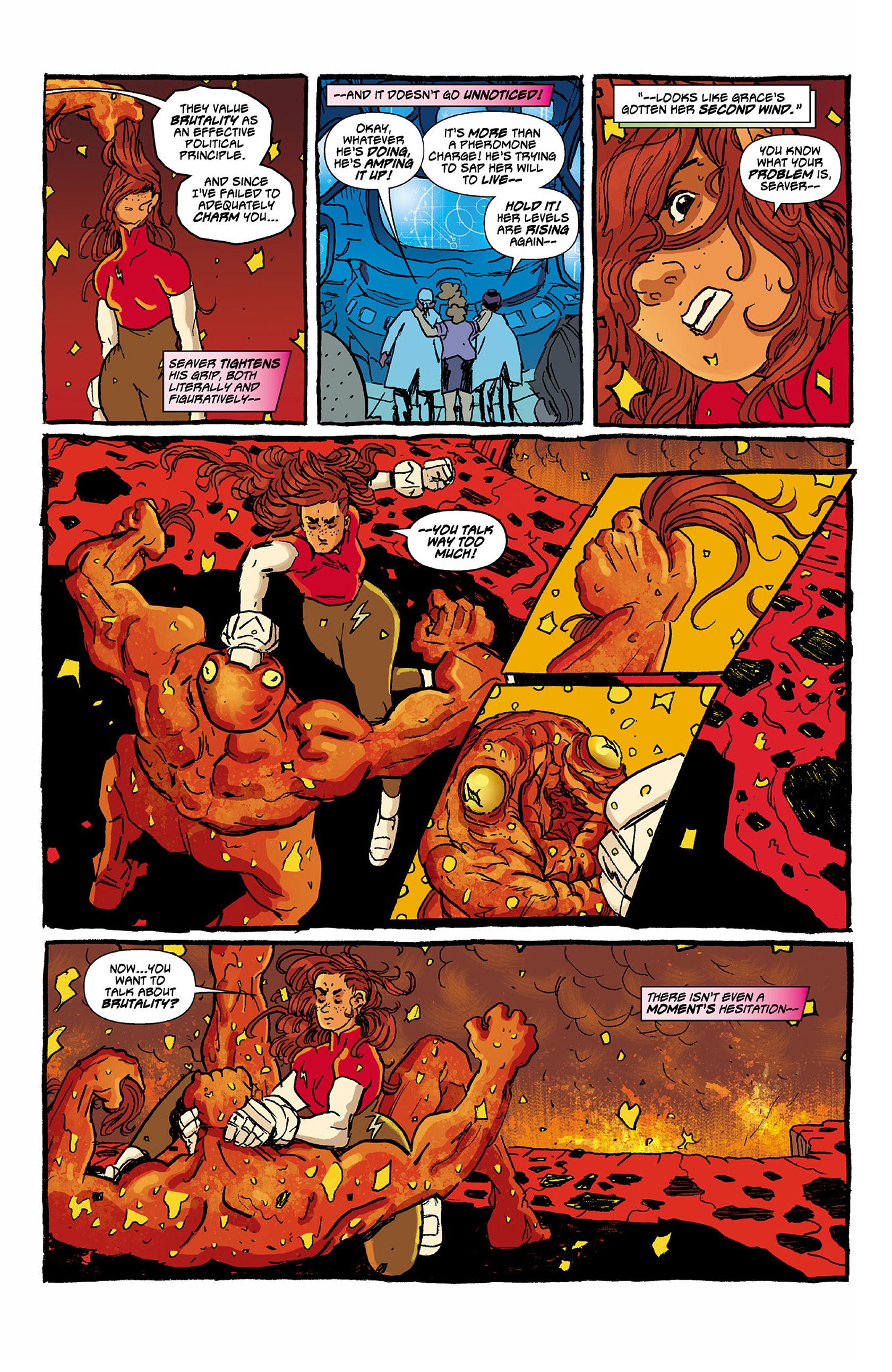 Read online Catalyst Comix comic -  Issue #6 - 12