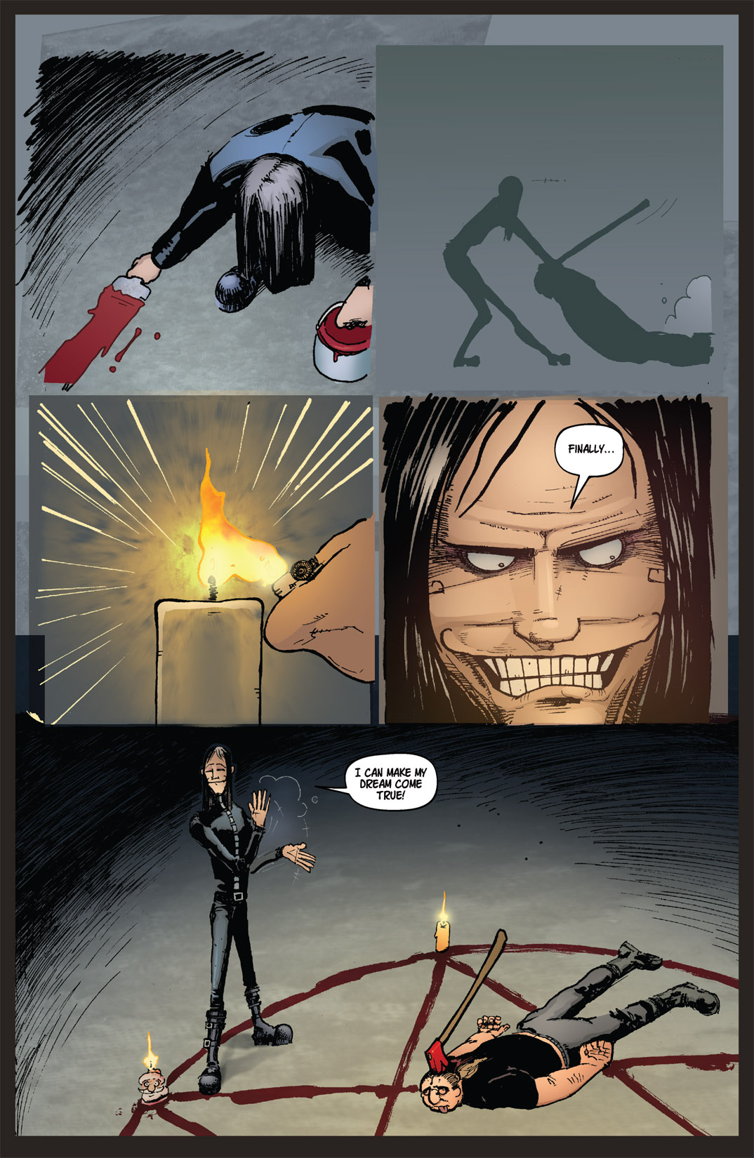 Read online Nightmare World comic -  Issue # Vol. 2 Leave the Light On - 101