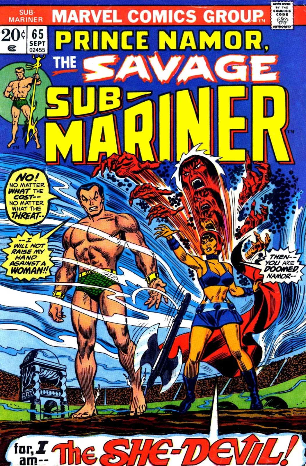 The Sub-Mariner 65 Page 1