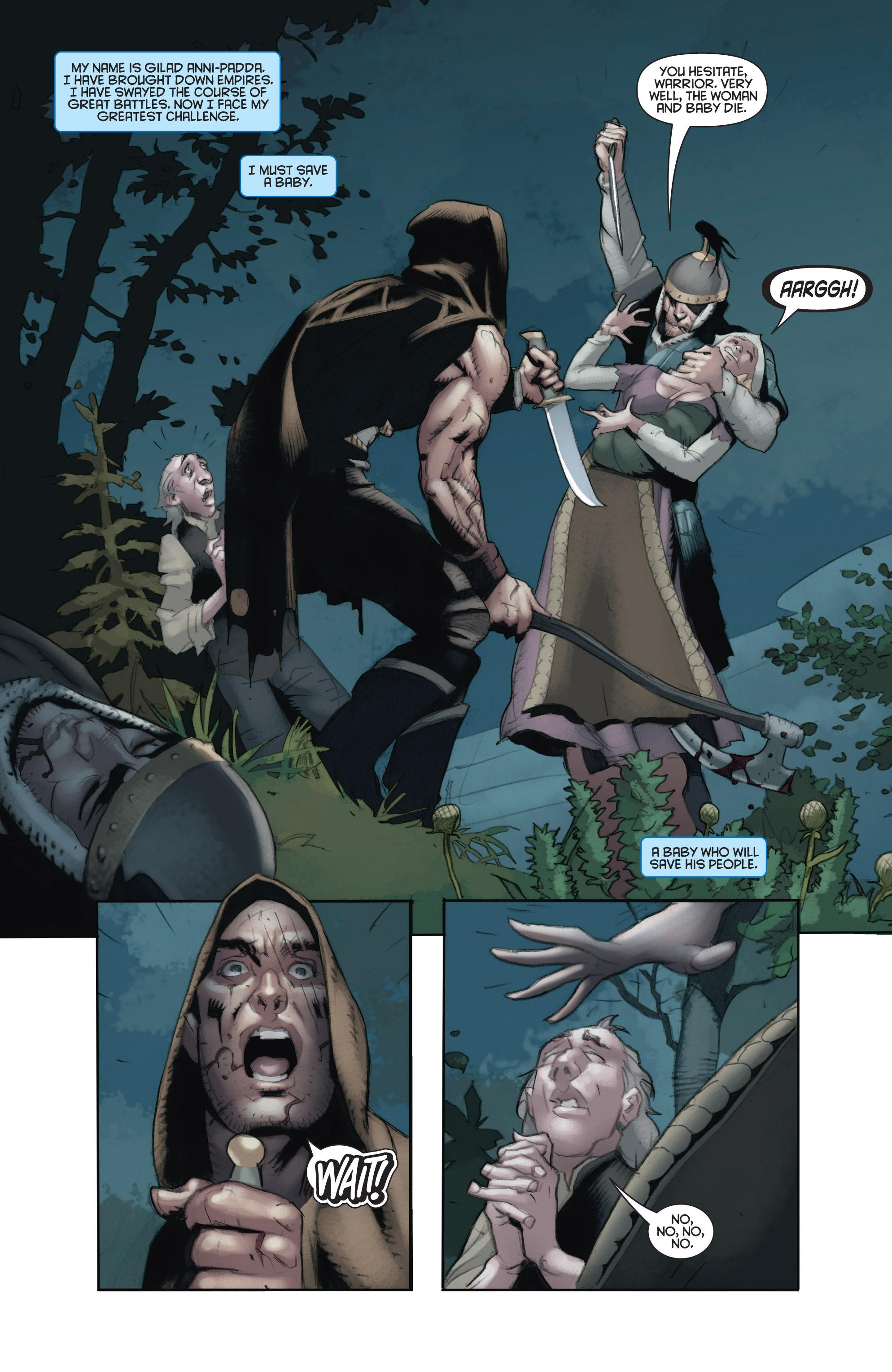 Read online Eternal Warrior: Days of Steel comic -  Issue #2 - 3