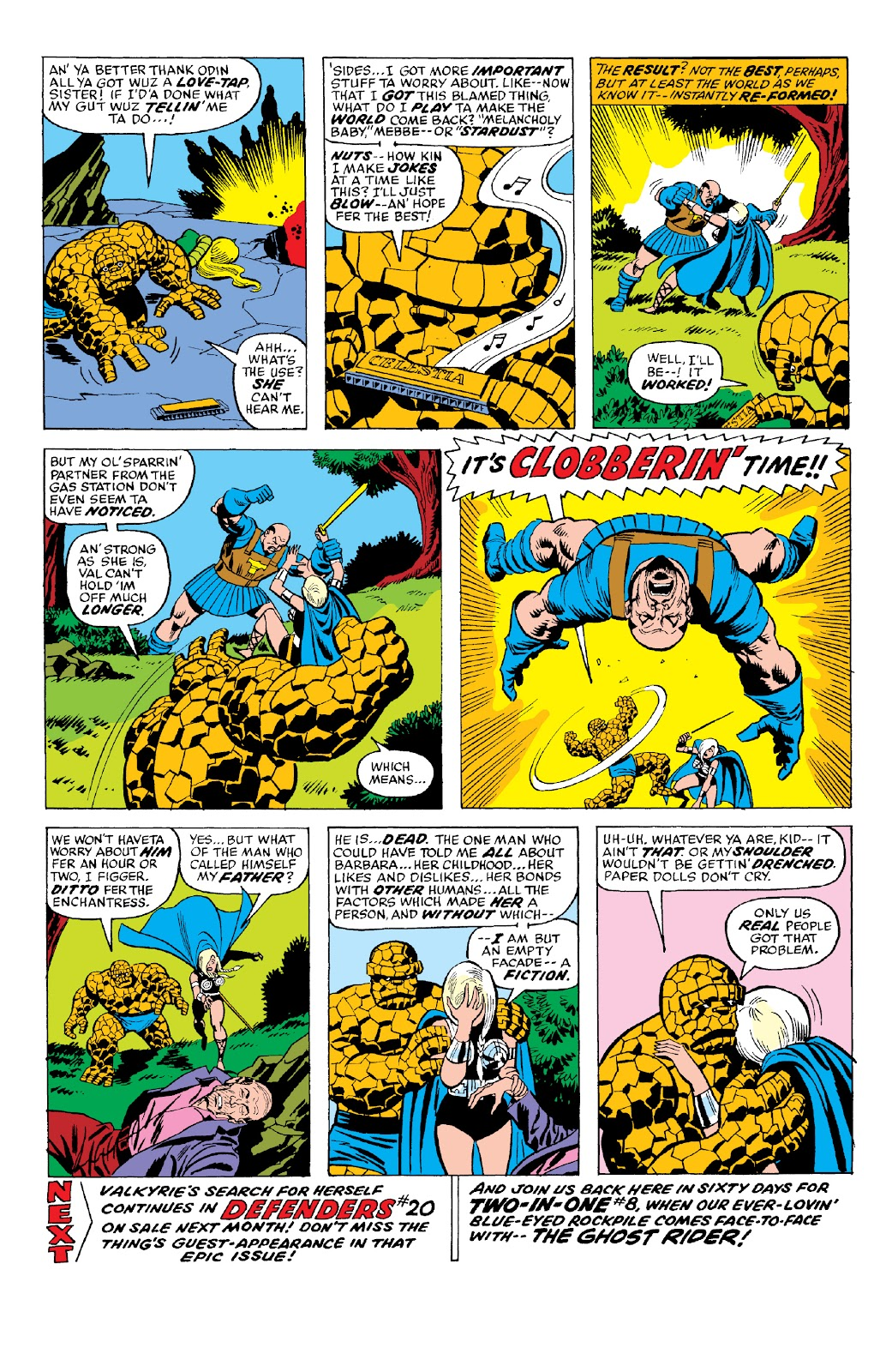 Read online Marvel Two-In-One Epic Collection: Cry Monster comic -  Issue # TPB (Part 2) - 78