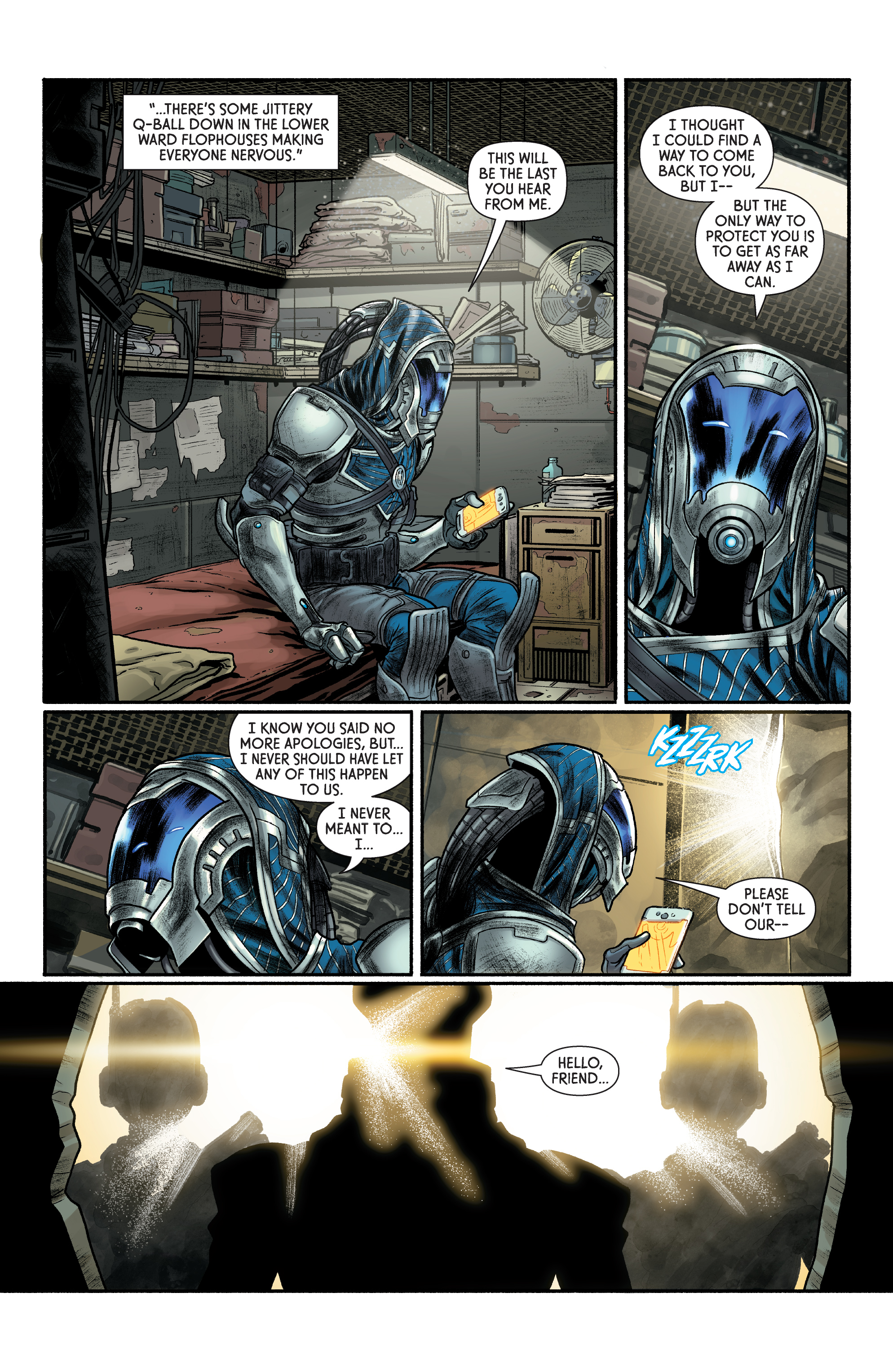 Read online Mass Effect: Discovery comic -  Issue #1 - 22