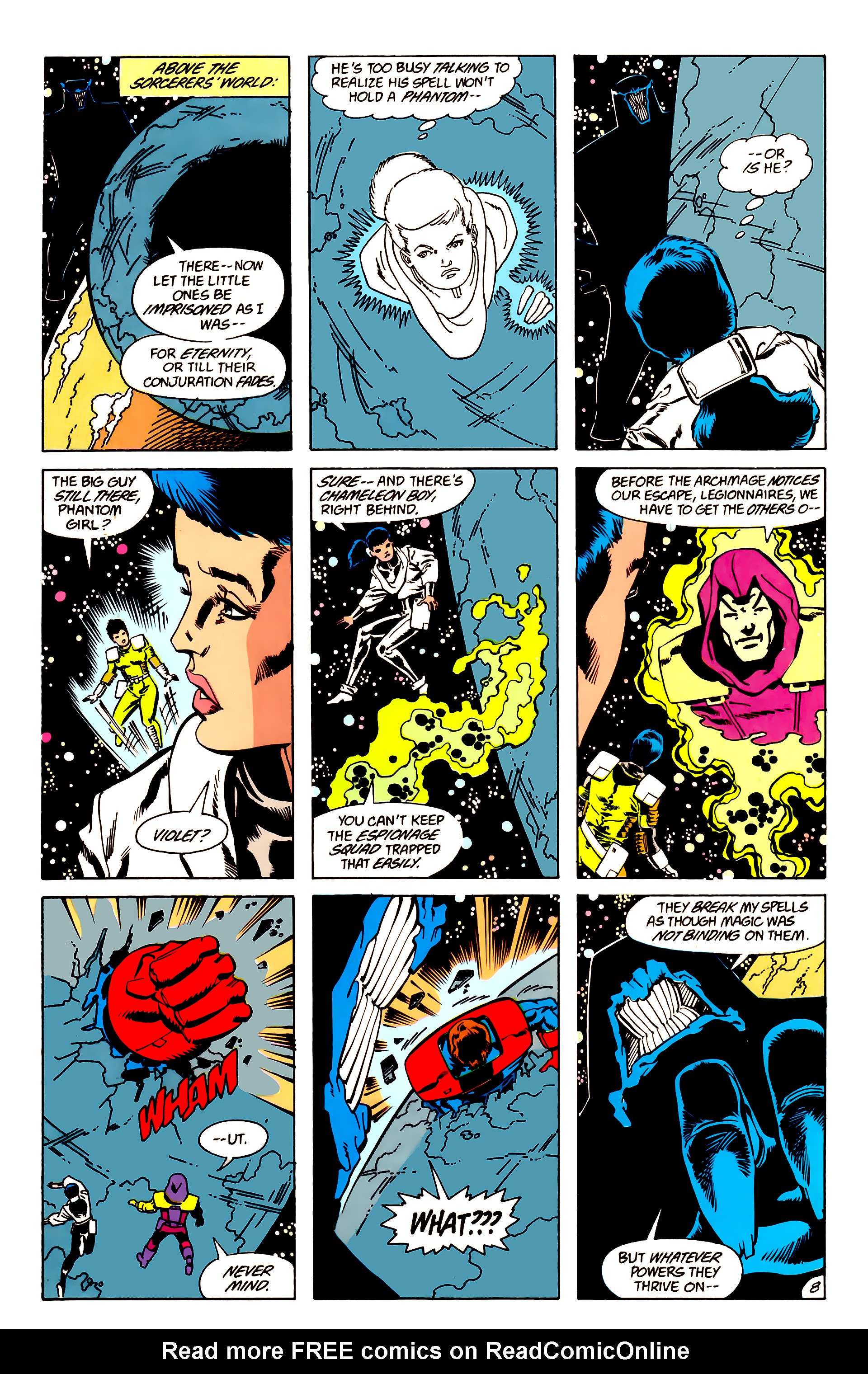 Legion of Super-Heroes (1984) 63 Page 8