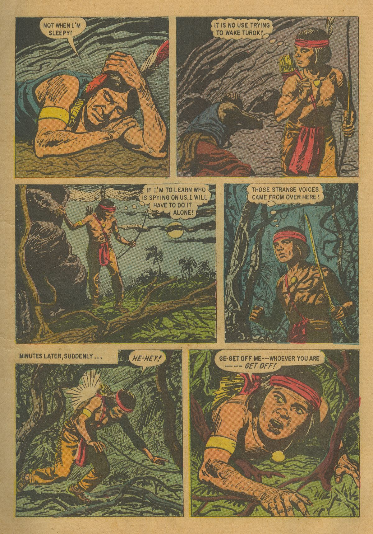 Read online Turok, Son of Stone comic -  Issue #17 - 5