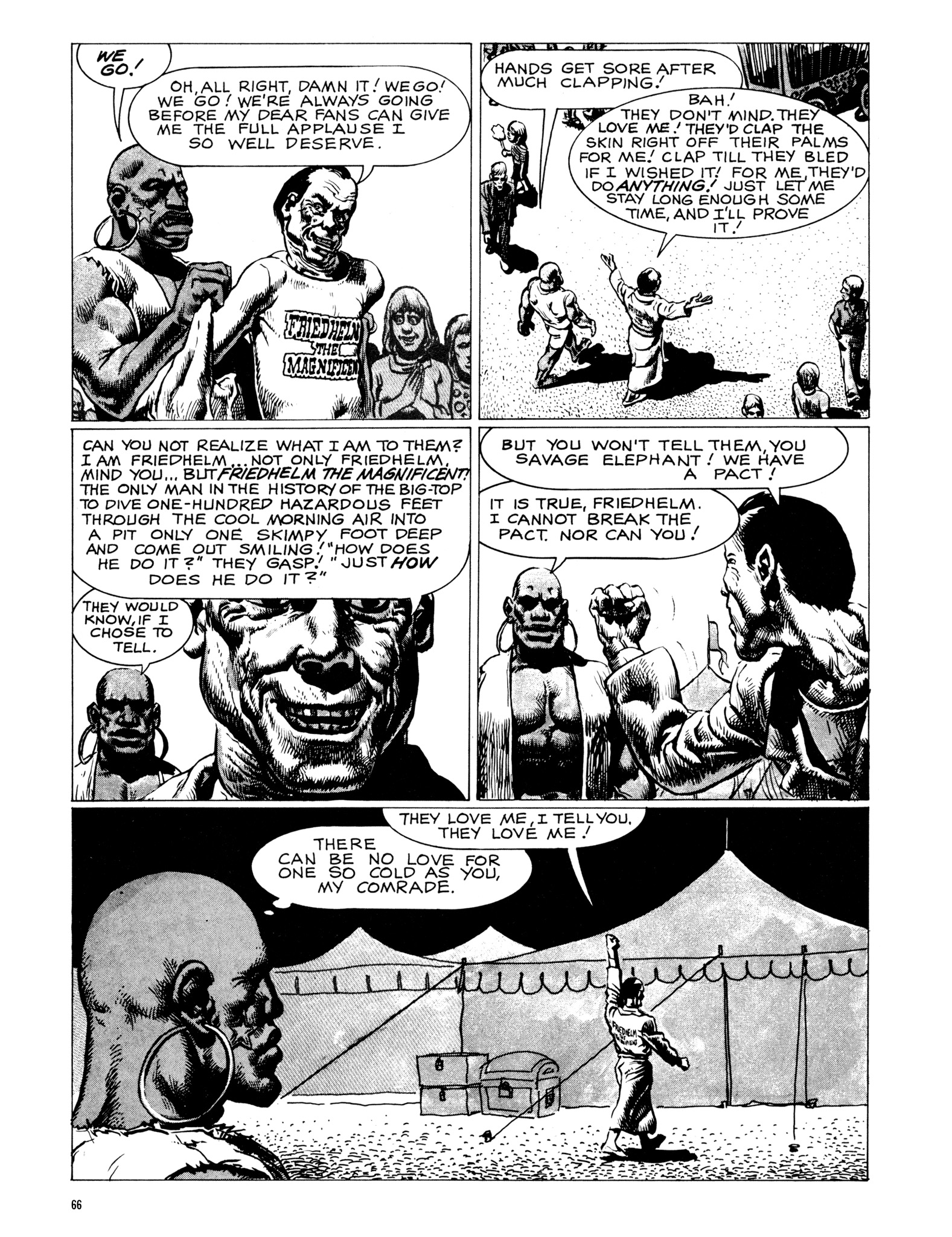 Read online Eerie Archives comic -  Issue # TPB 18 - 67