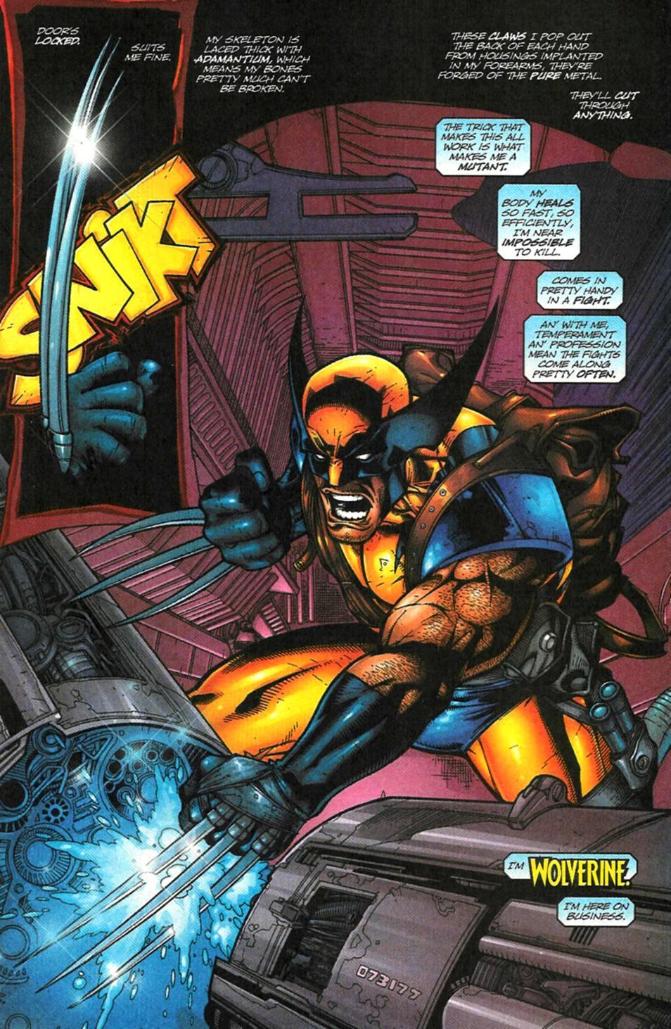 X-Men (1991) 102 Page 1