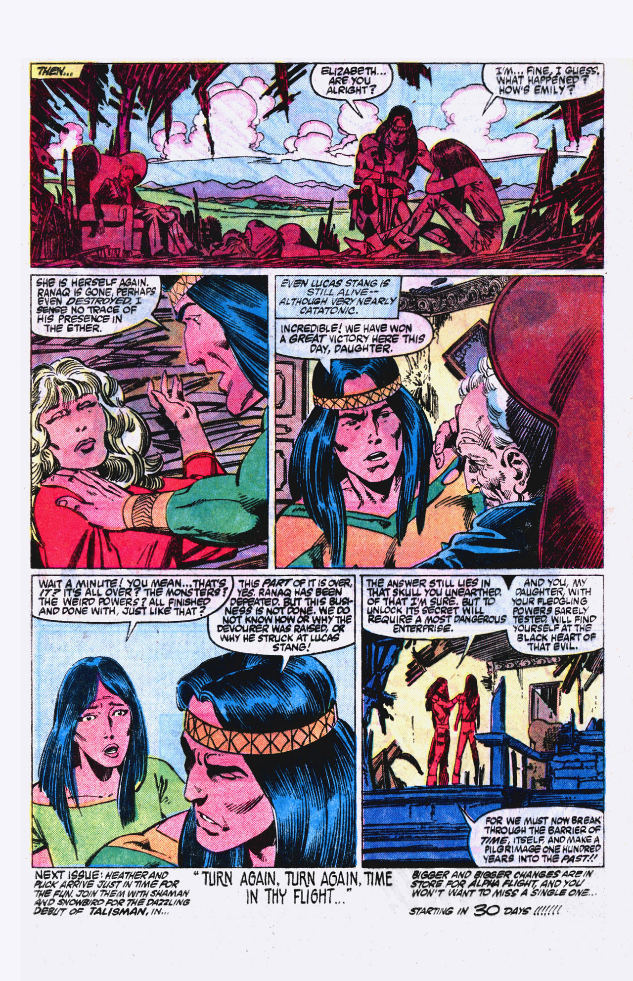Read online Alpha Flight (1983) comic -  Issue #18 - 23
