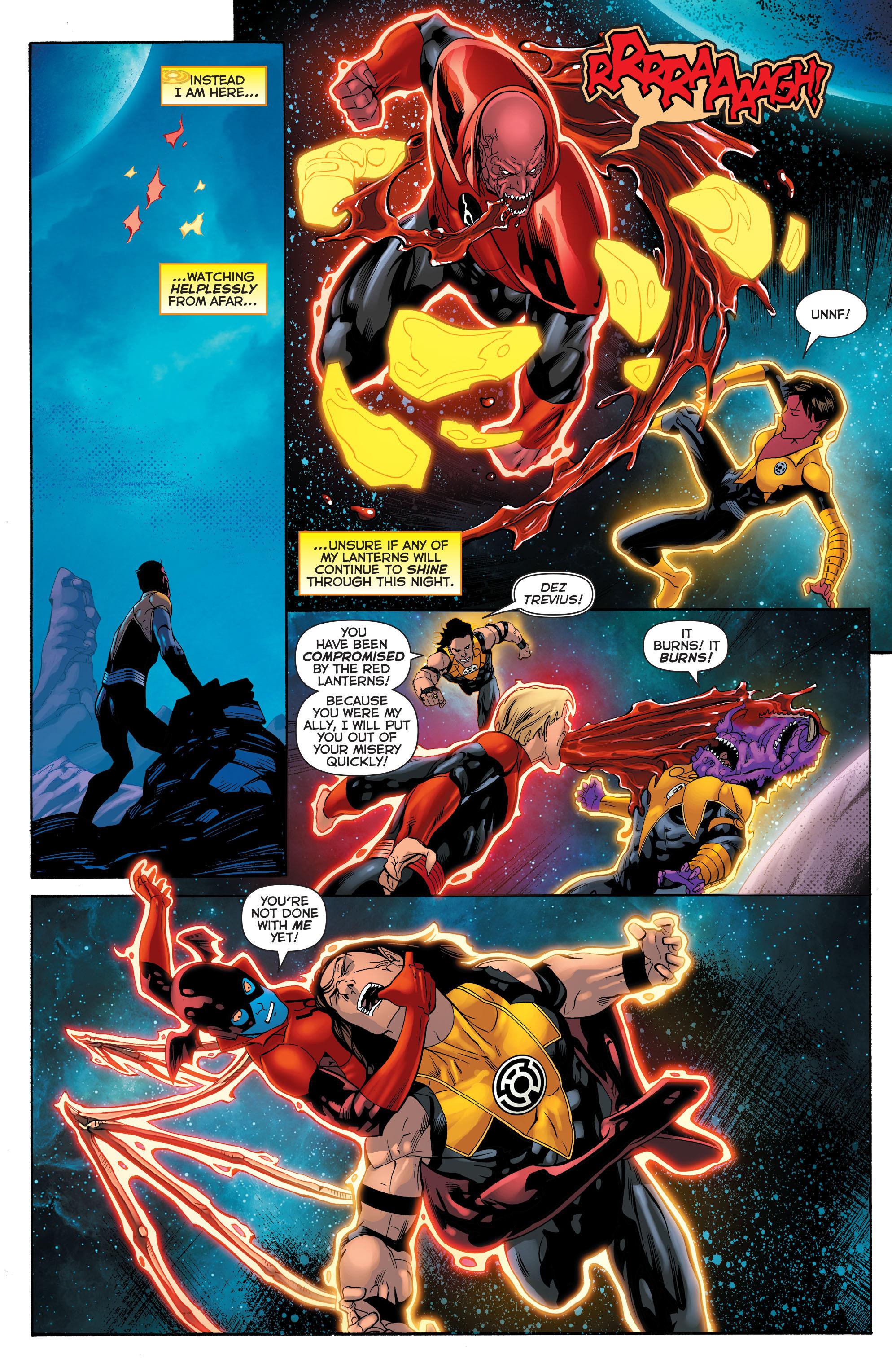 Read online Sinestro comic -  Issue #23 - 8