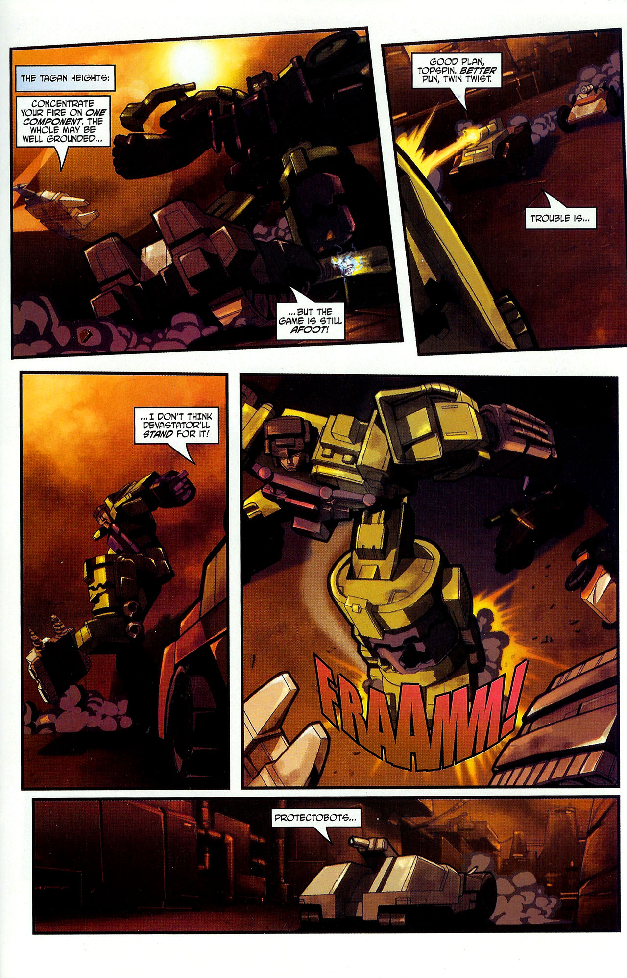 """Read online Transformers War Within: """"The Dark Ages"""" comic -  Issue #2 - 18"""