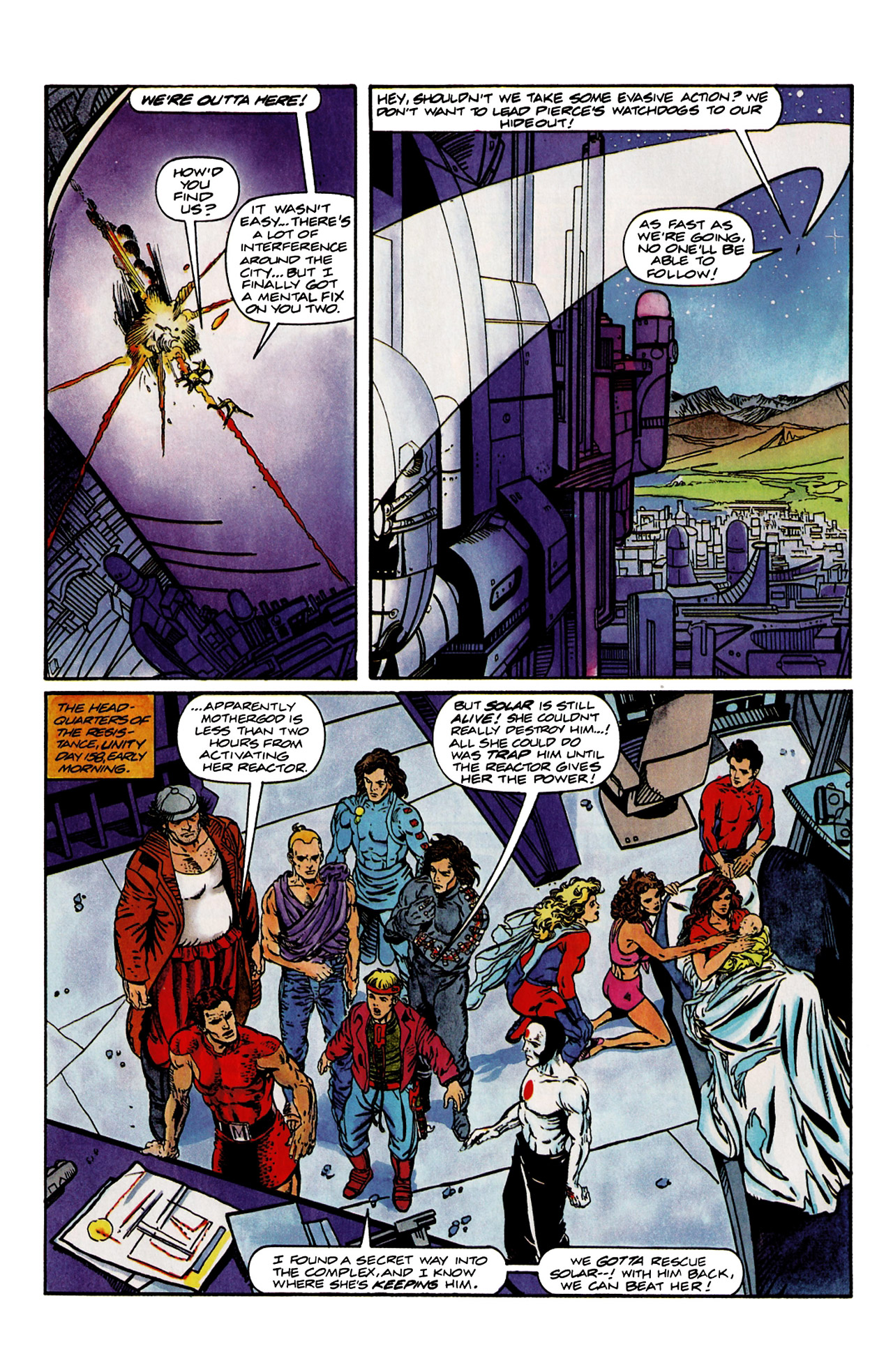 Read online Harbinger (1992) comic -  Issue #9 - 8