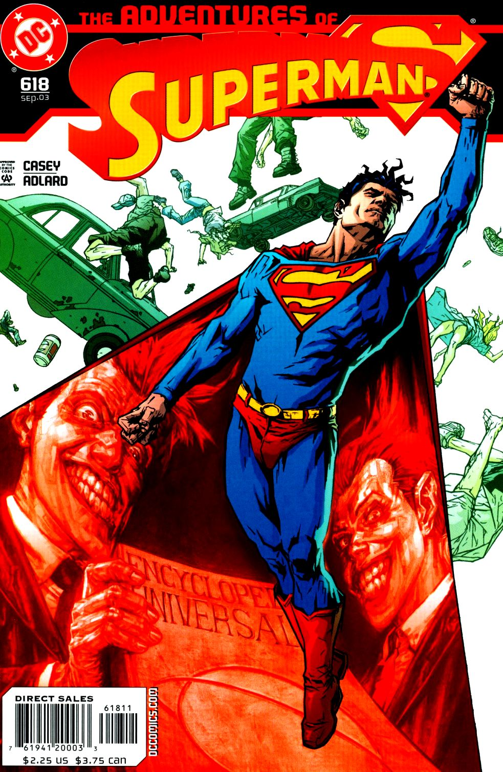 Read online Adventures of Superman (1987) comic -  Issue #618 - 1