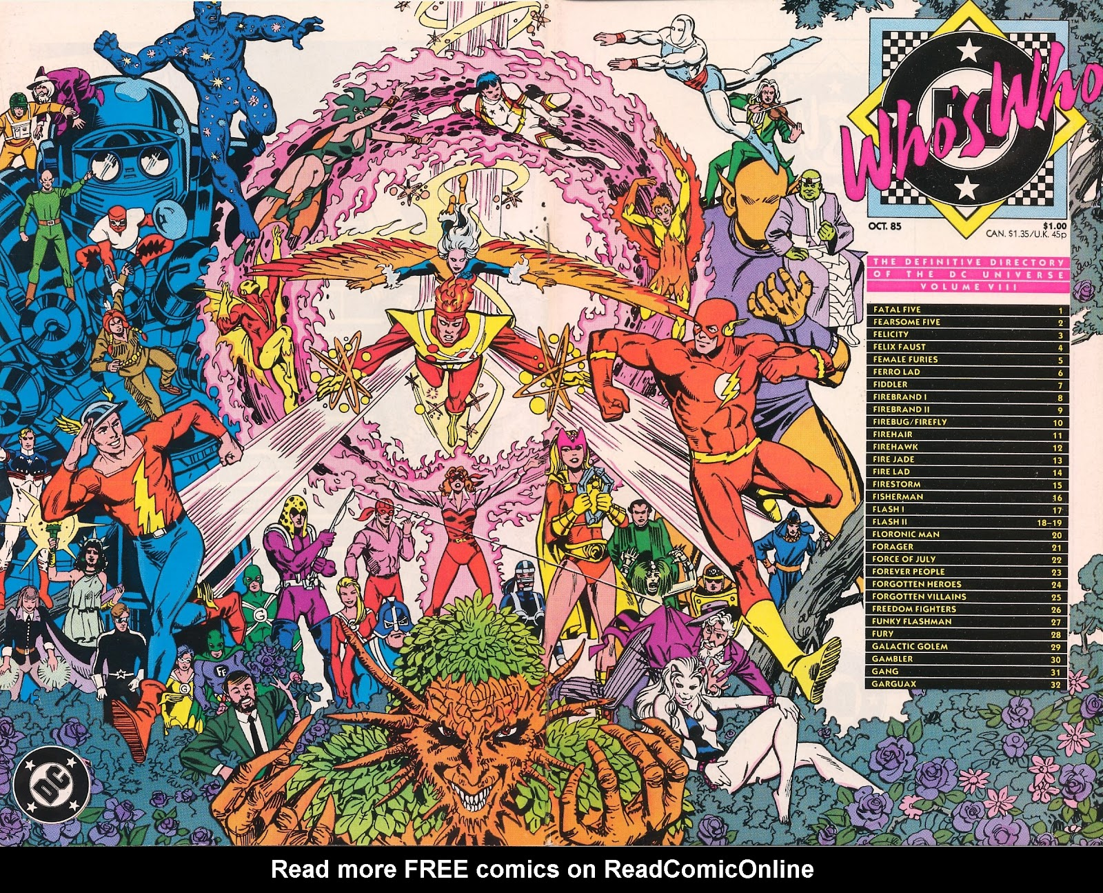 Whos Who: The Definitive Directory of the DC Universe 8 Page 1