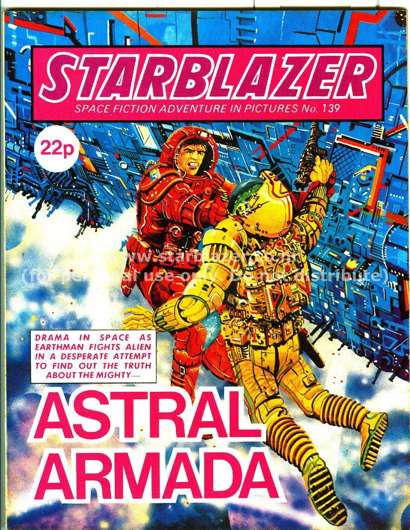Starblazer issue 139 - Page 1