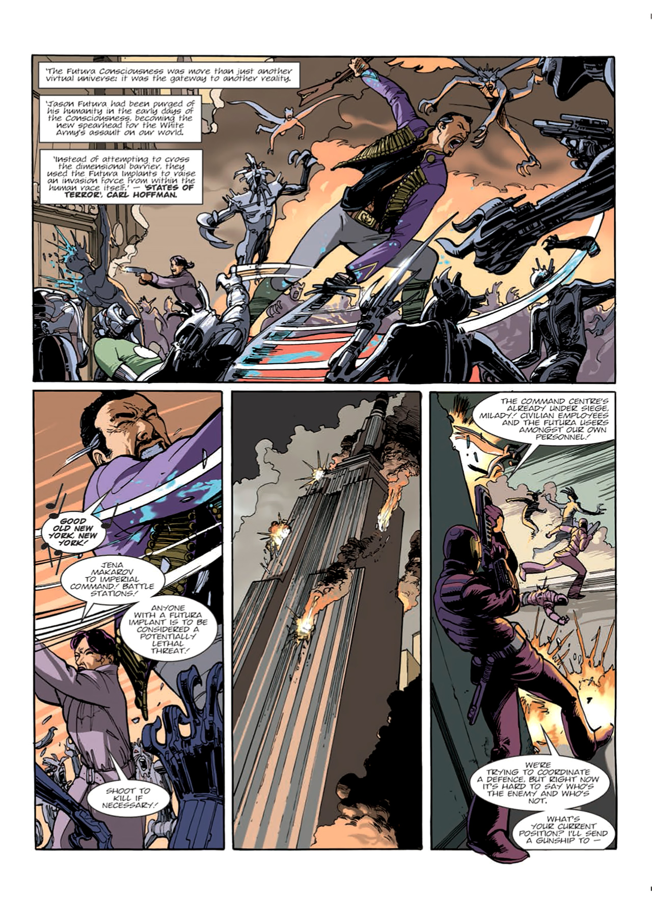 Read online Nikolai Dante comic -  Issue # TPB 9 - 49
