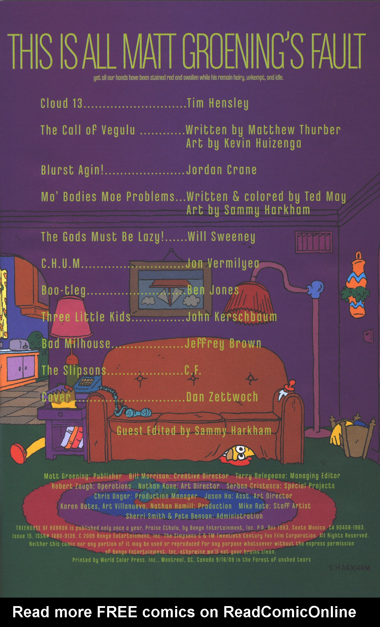 Read online Treehouse of Horror comic -  Issue #15 - 4