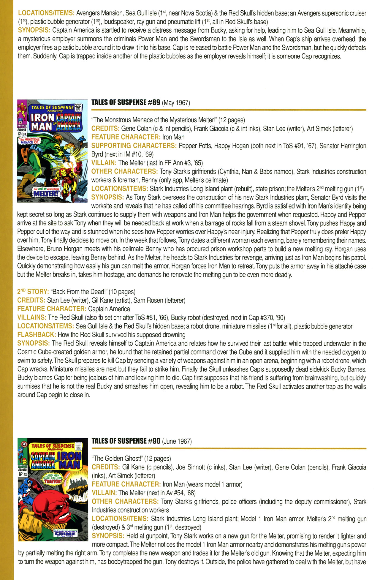 Read online Official Index to the Marvel Universe comic -  Issue #2 - 32