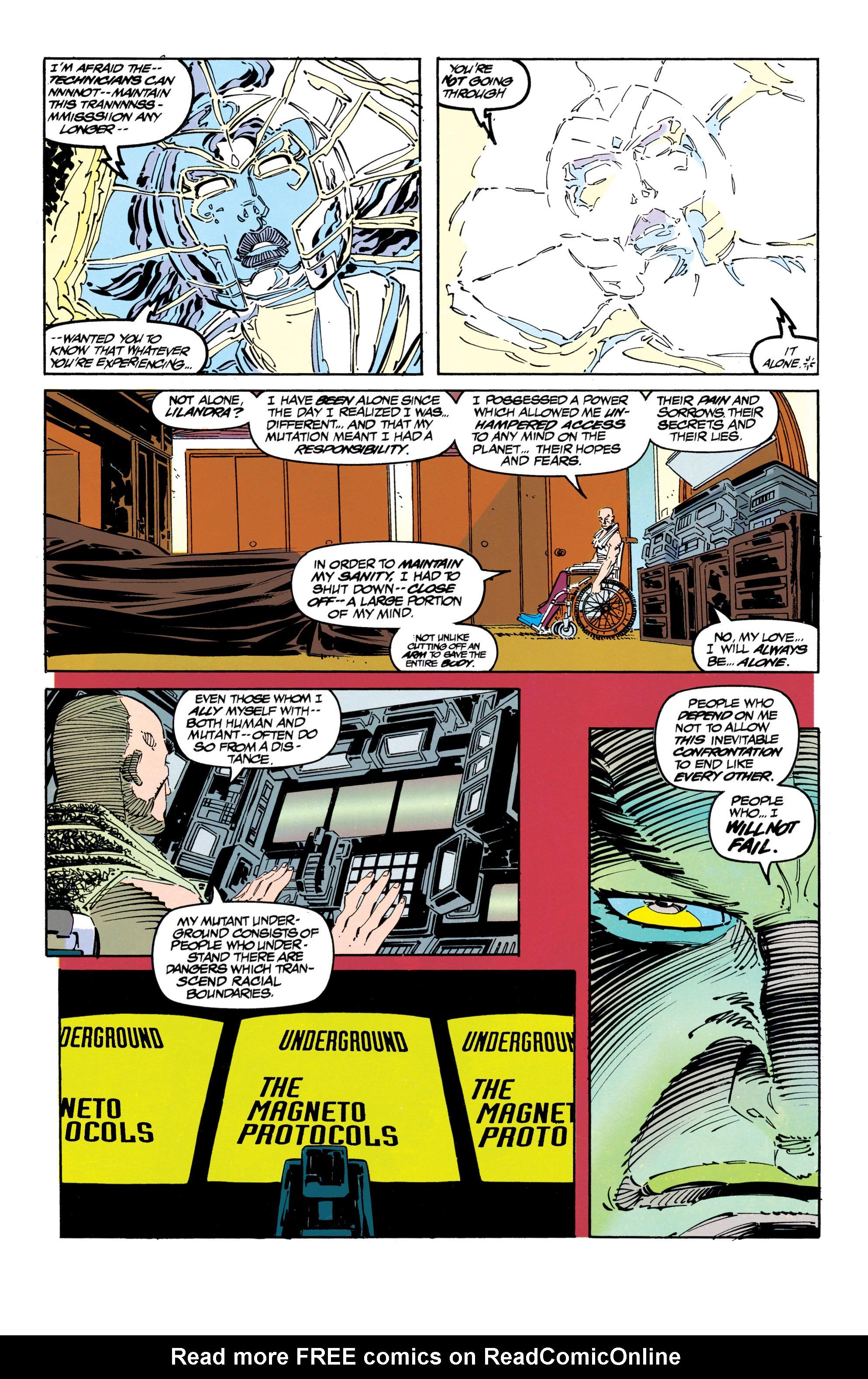 Read online Uncanny X-Men (1963) comic -  Issue #304 - 8