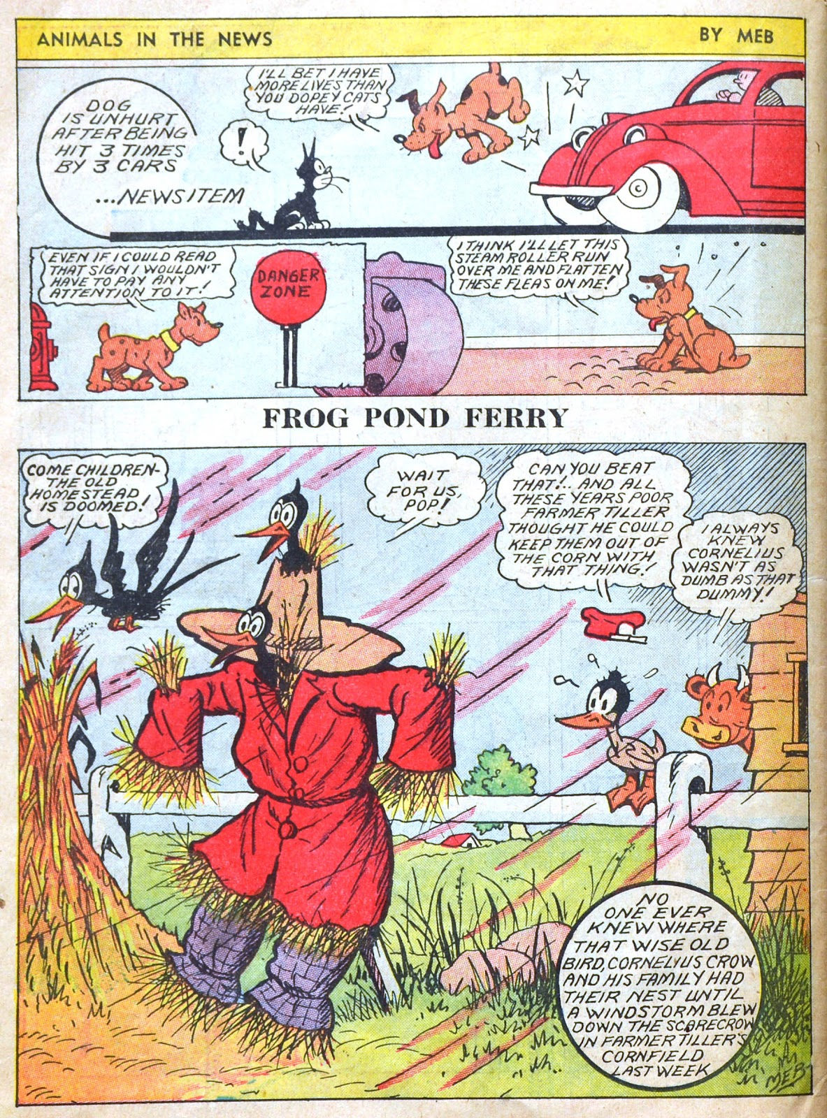 Read online Famous Funnies comic -  Issue #51 - 65