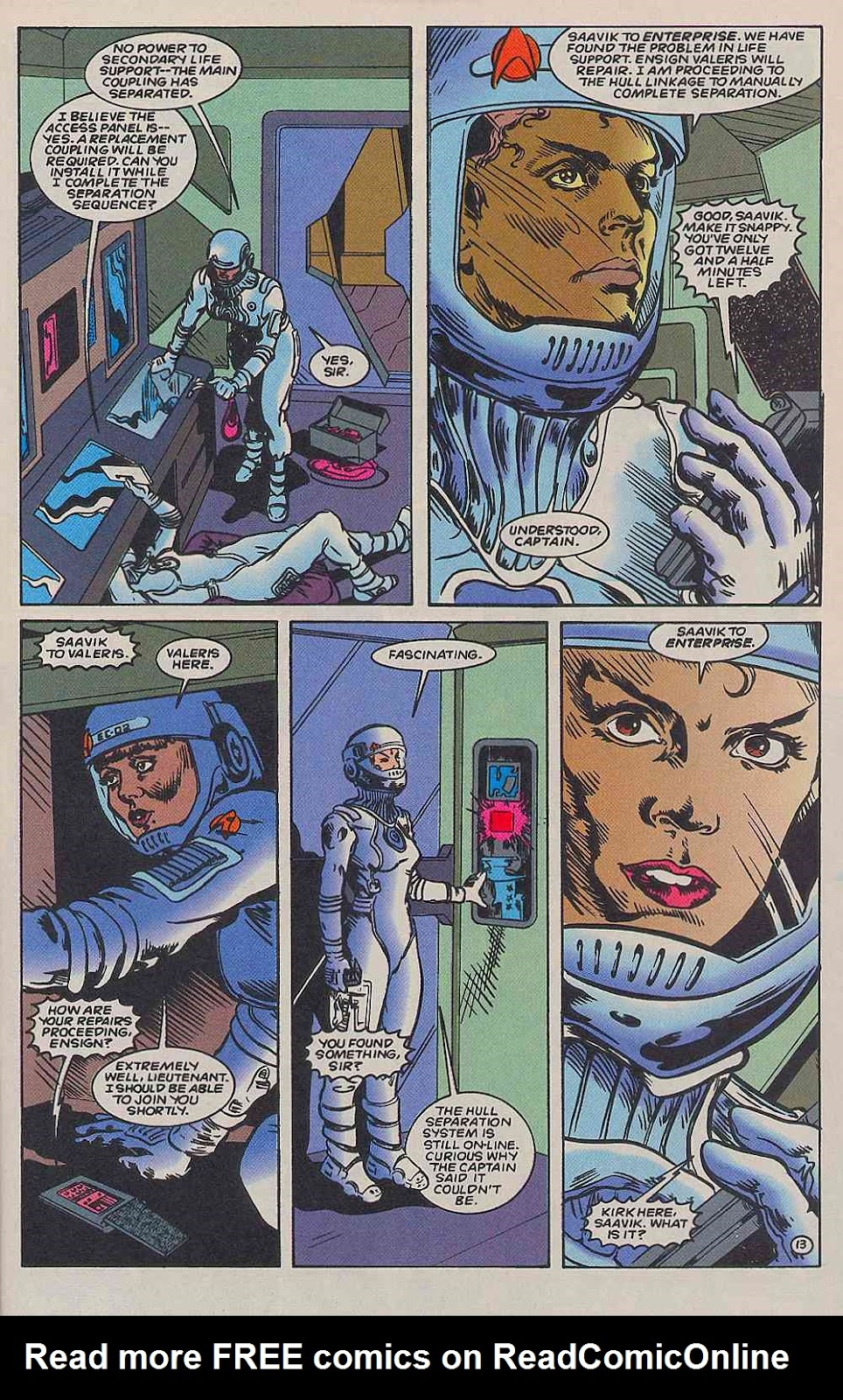 Read online Star Trek (1989) comic -  Issue # _Special 2 - 45