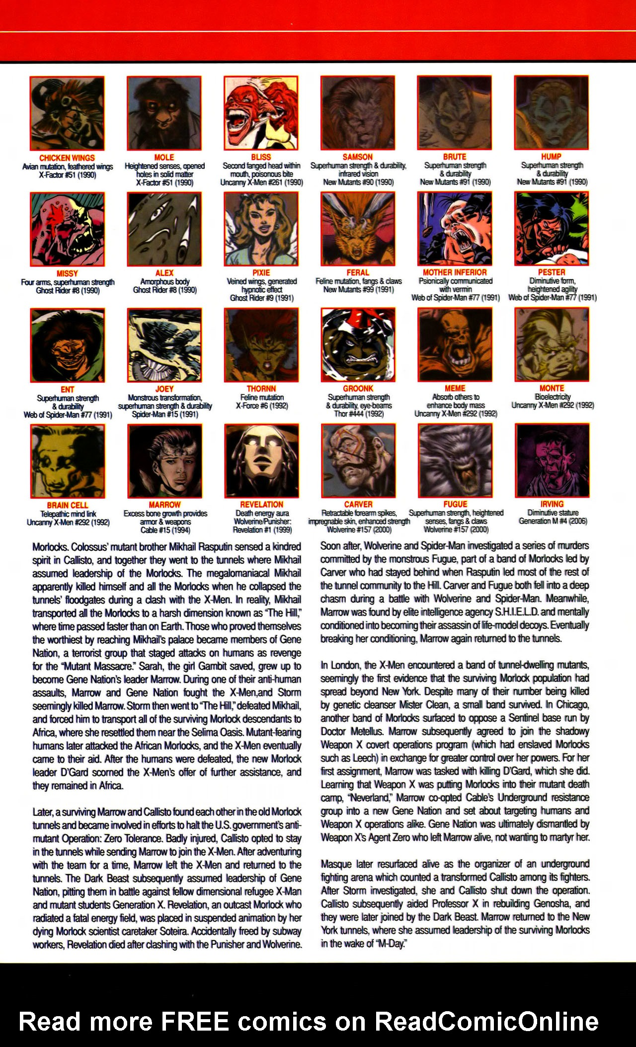 Read online All-New Official Handbook of the Marvel Universe A to Z comic -  Issue #7 - 55