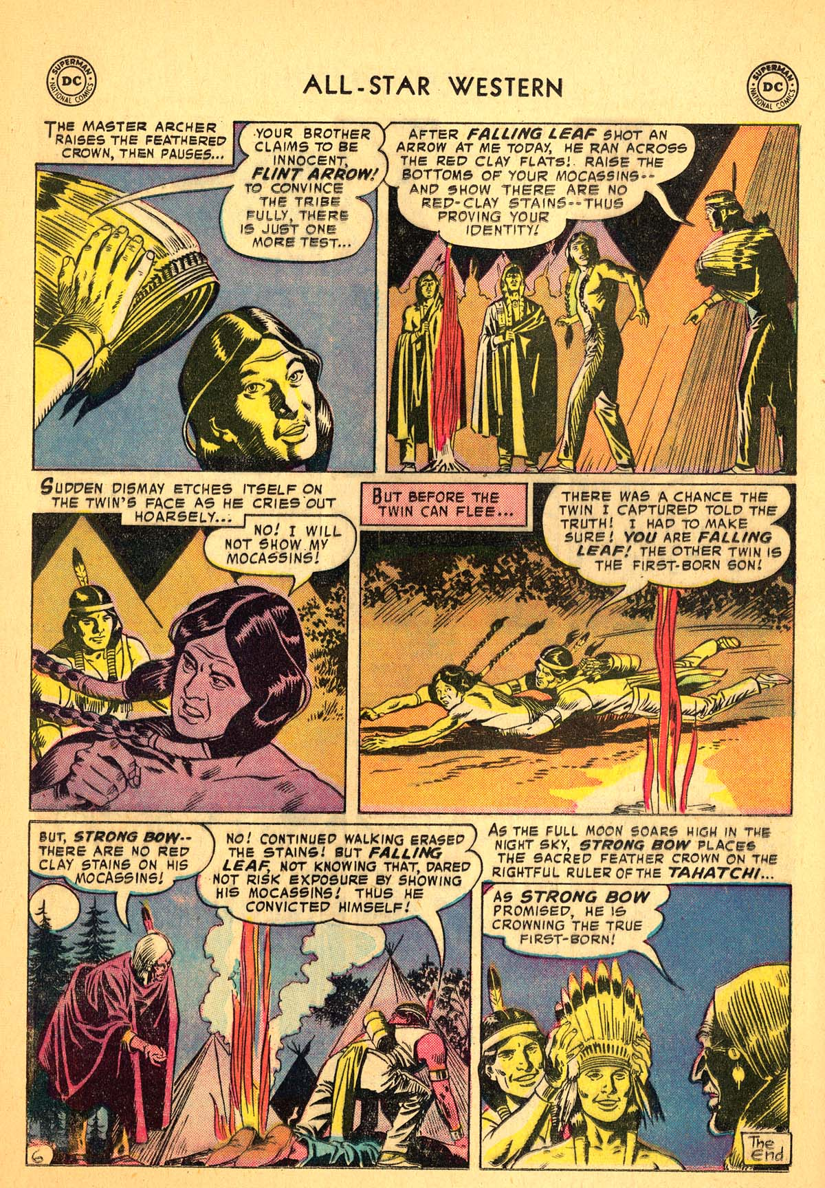 Read online All-Star Western (1951) comic -  Issue #99 - 16