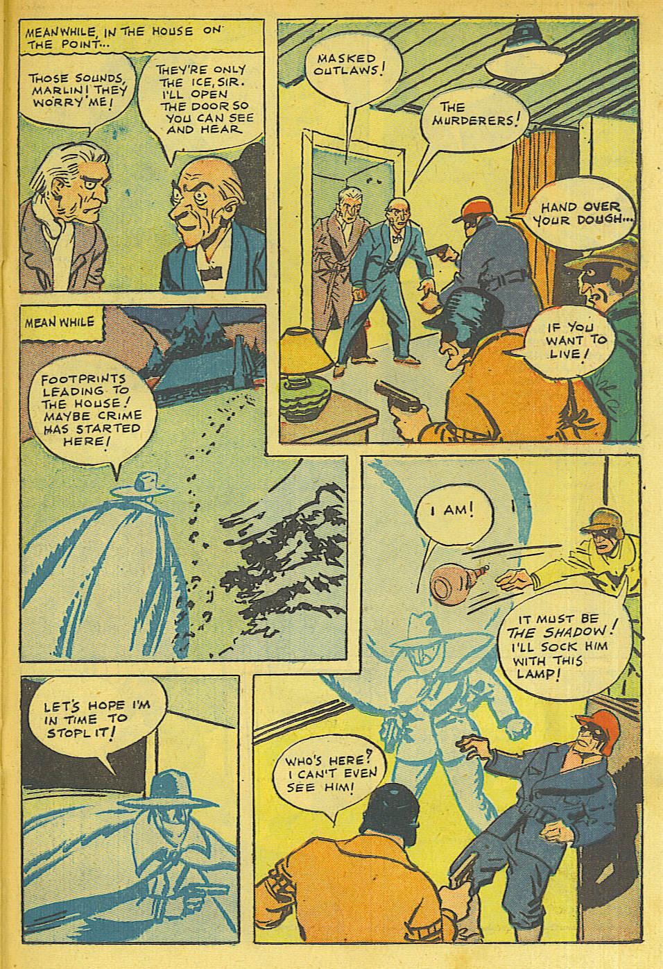 Read online Shadow Comics comic -  Issue #63 - 29
