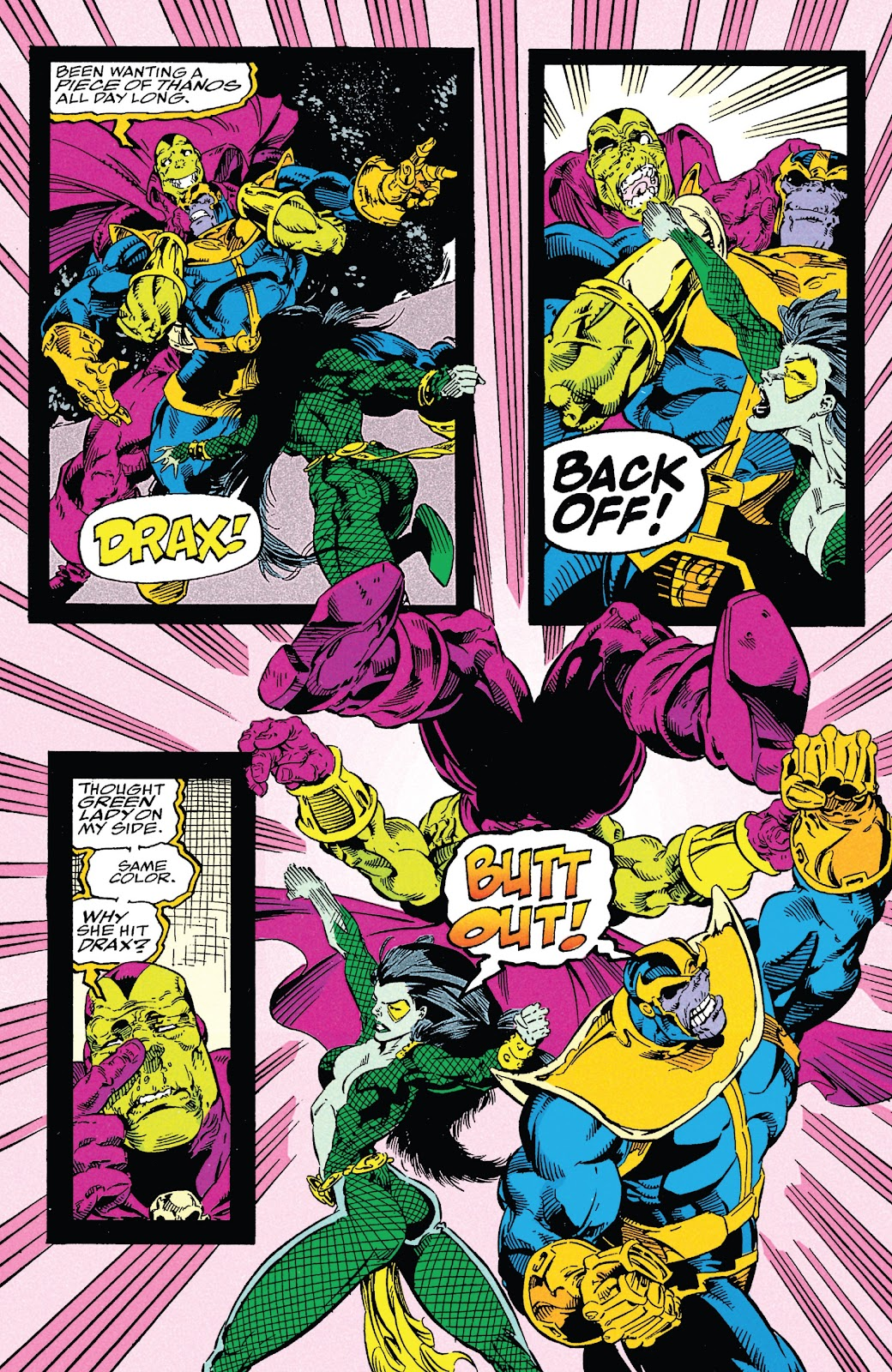 Read online Marvel Tales: Thanos comic -  Issue # Full - 62