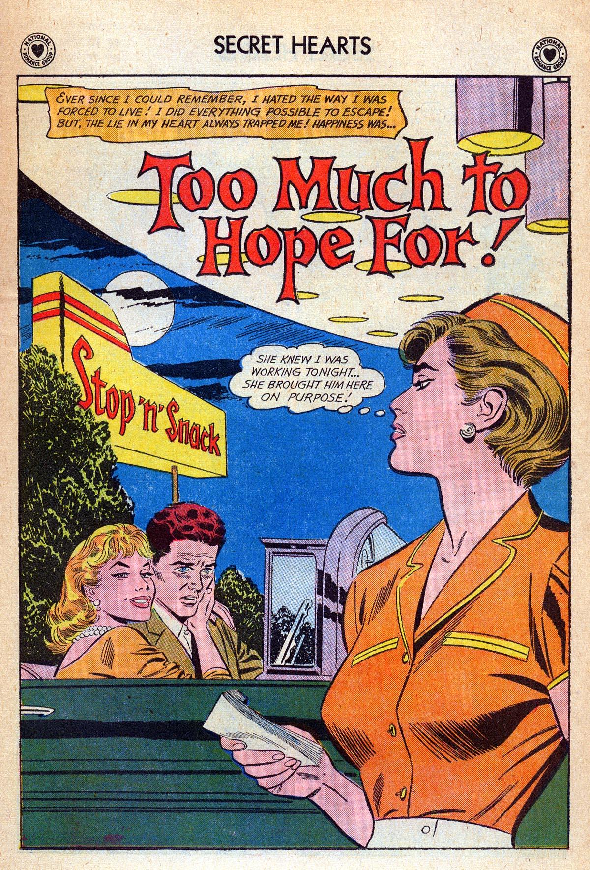 Read online Secret Hearts comic -  Issue #76 - 27
