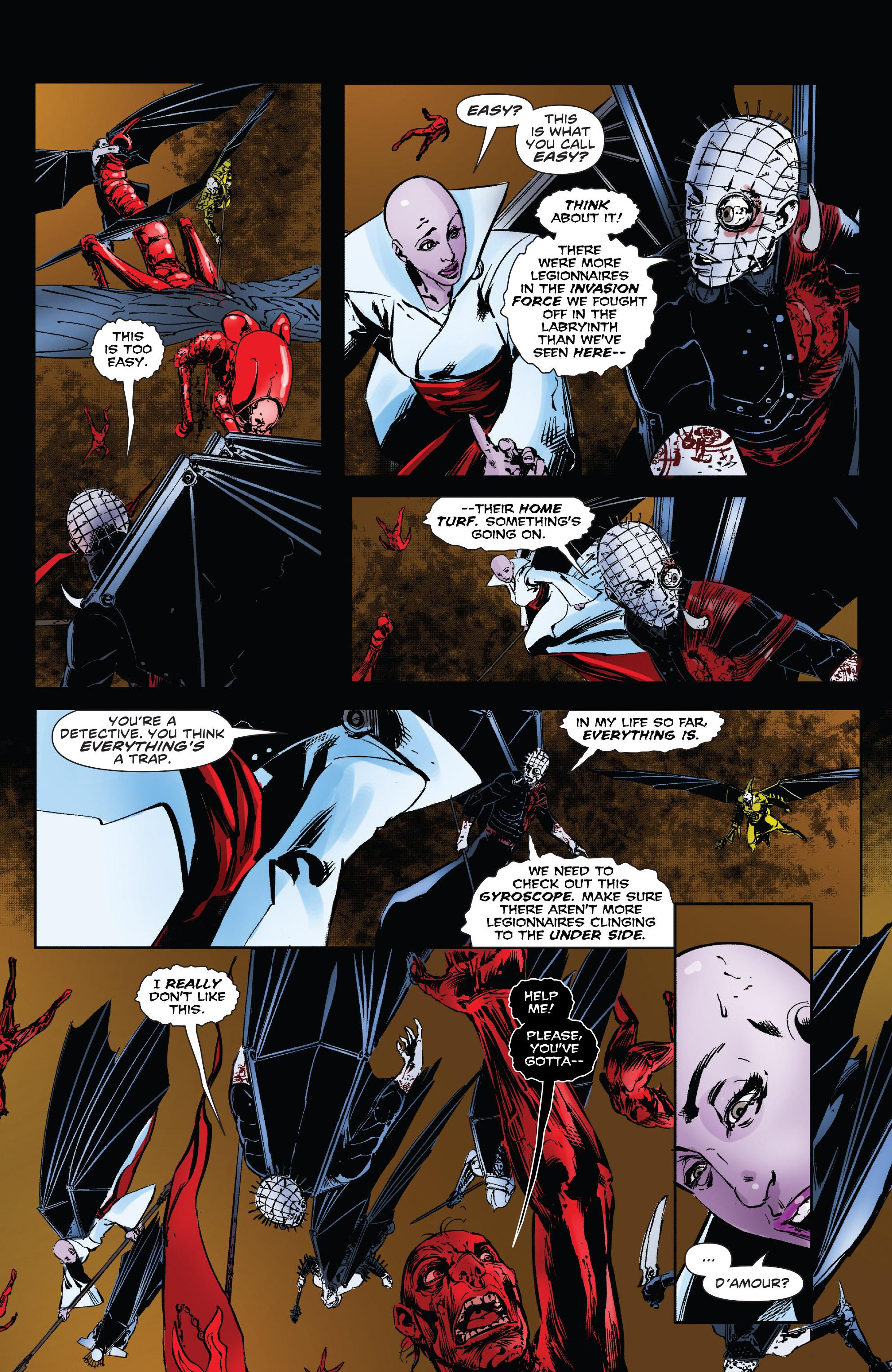 Read online Clive Barker's Hellraiser: The Dark Watch comic -  Issue # TPB 3 - 71