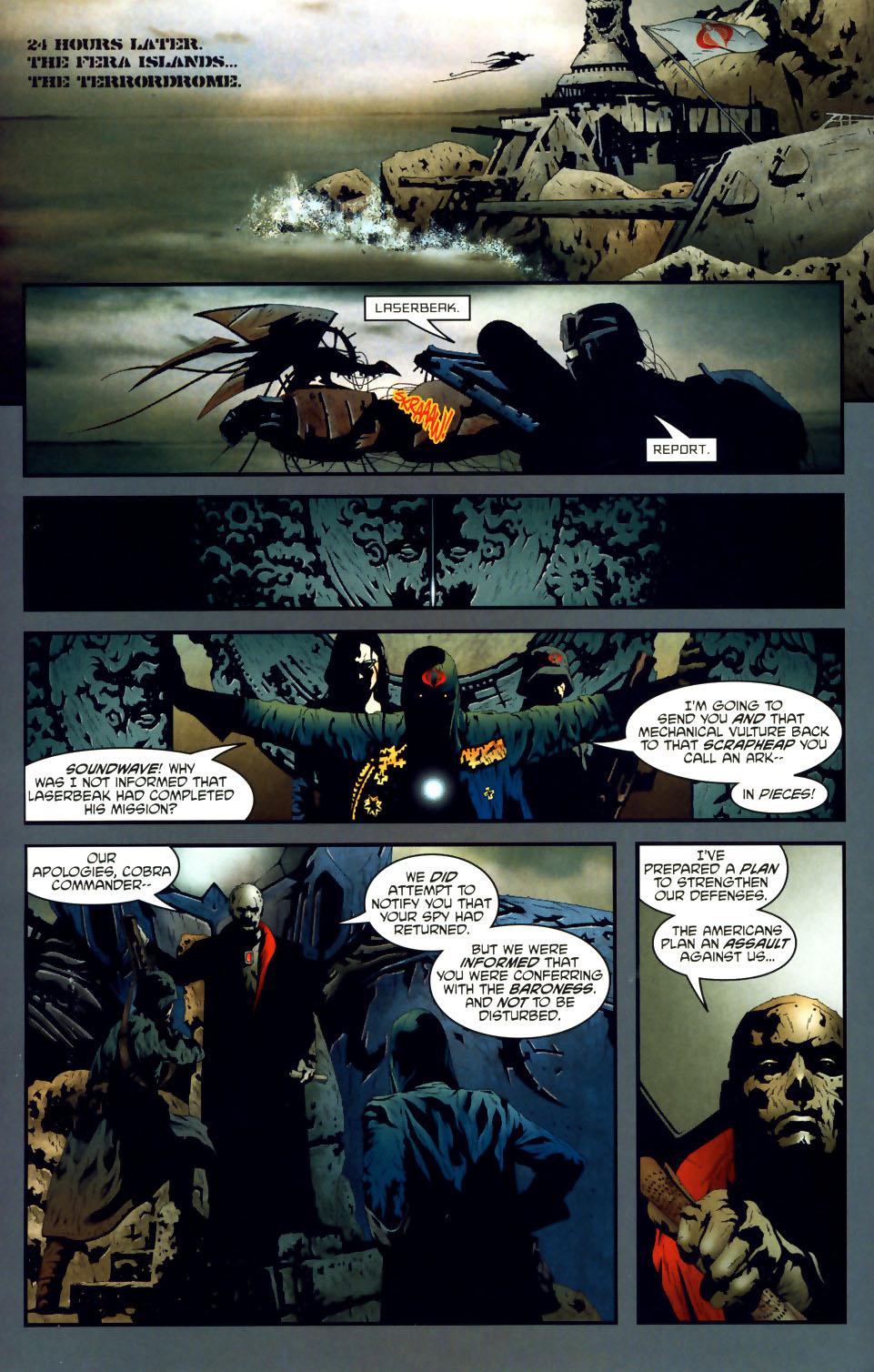 Read online Transformers/G.I. Joe comic -  Issue #1 - 12