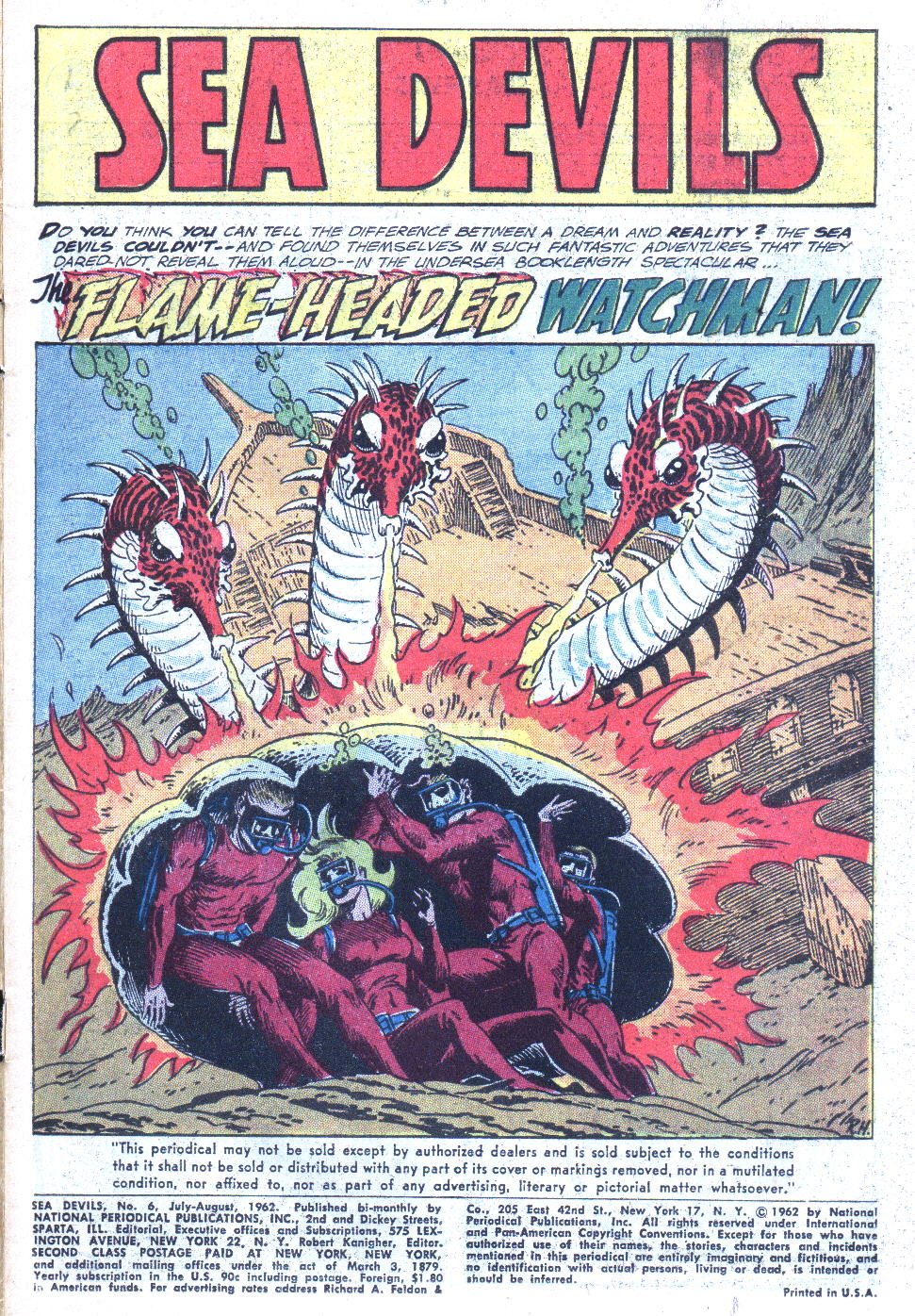 Read online Sea Devils comic -  Issue #6 - 4