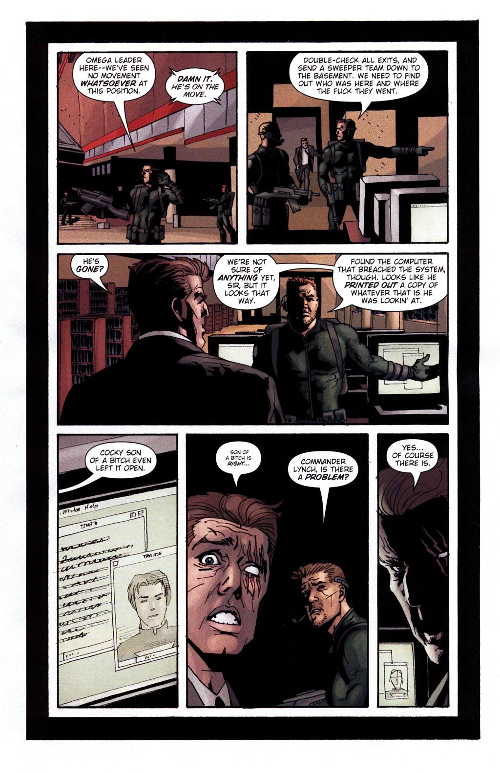 Read online Sleeper: Season Two comic -  Issue #5 - 12