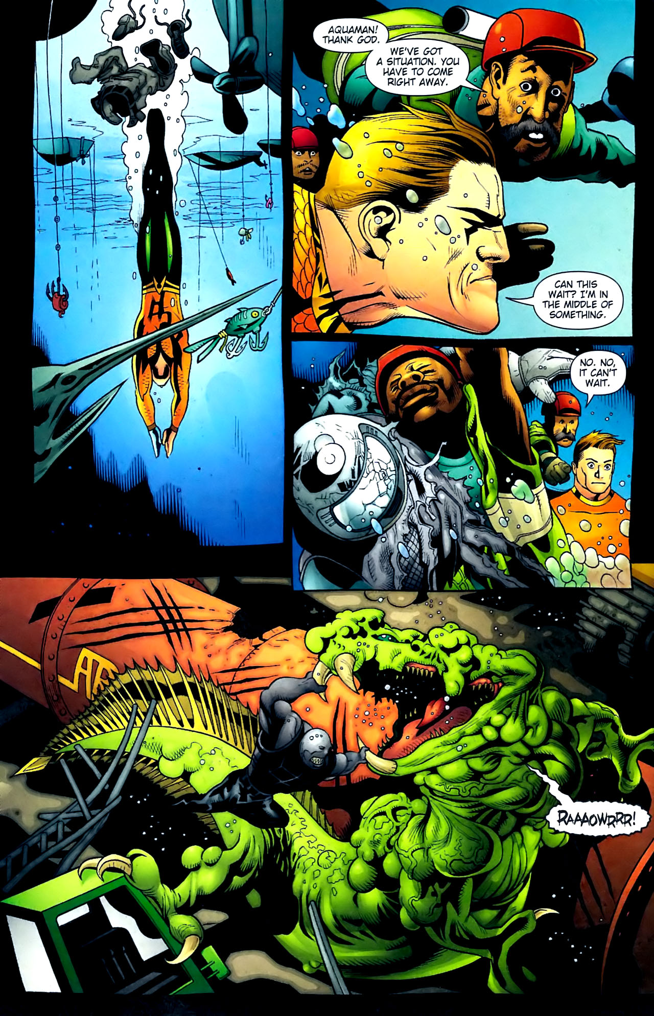Read online Aquaman (2003) comic -  Issue #32 - 10