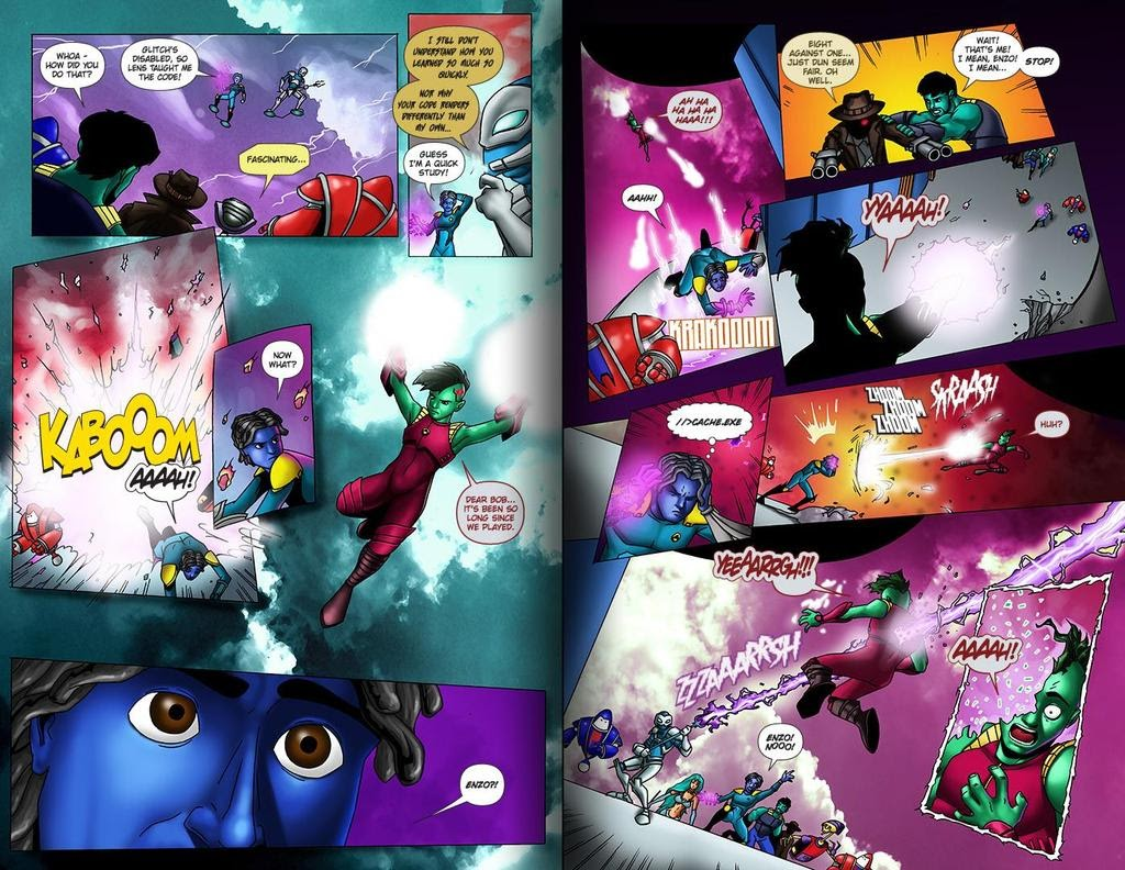 Read online ReBoot: Paradigms Lost comic -  Issue # Full - 30