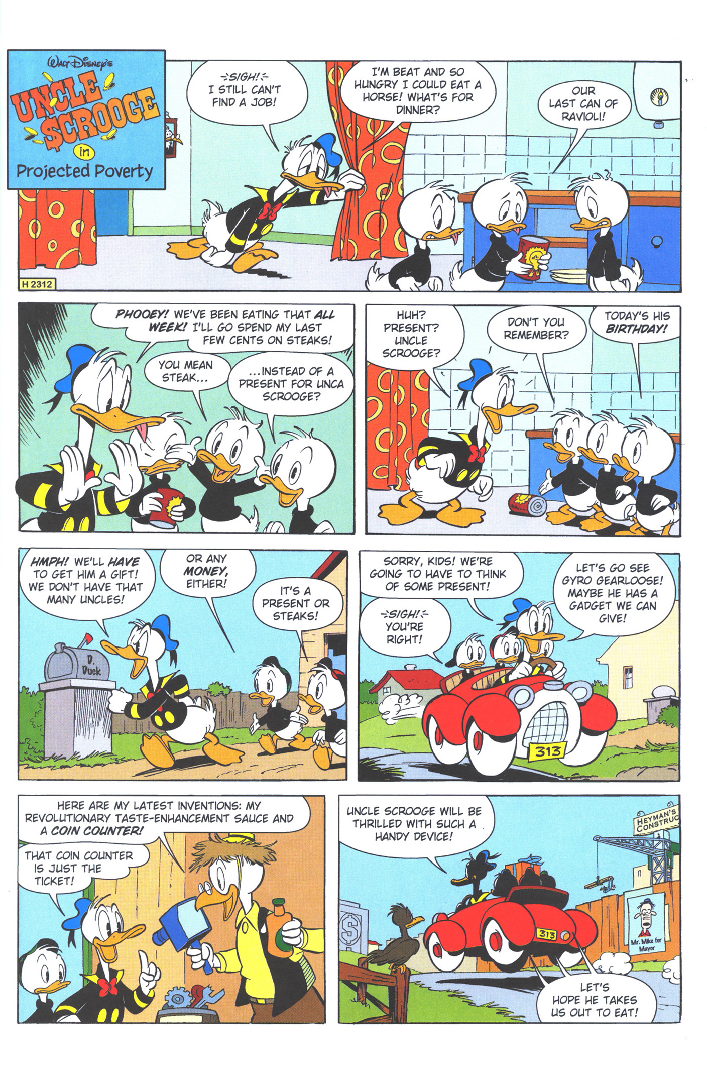 Read online Uncle Scrooge (1953) comic -  Issue #372 - 57