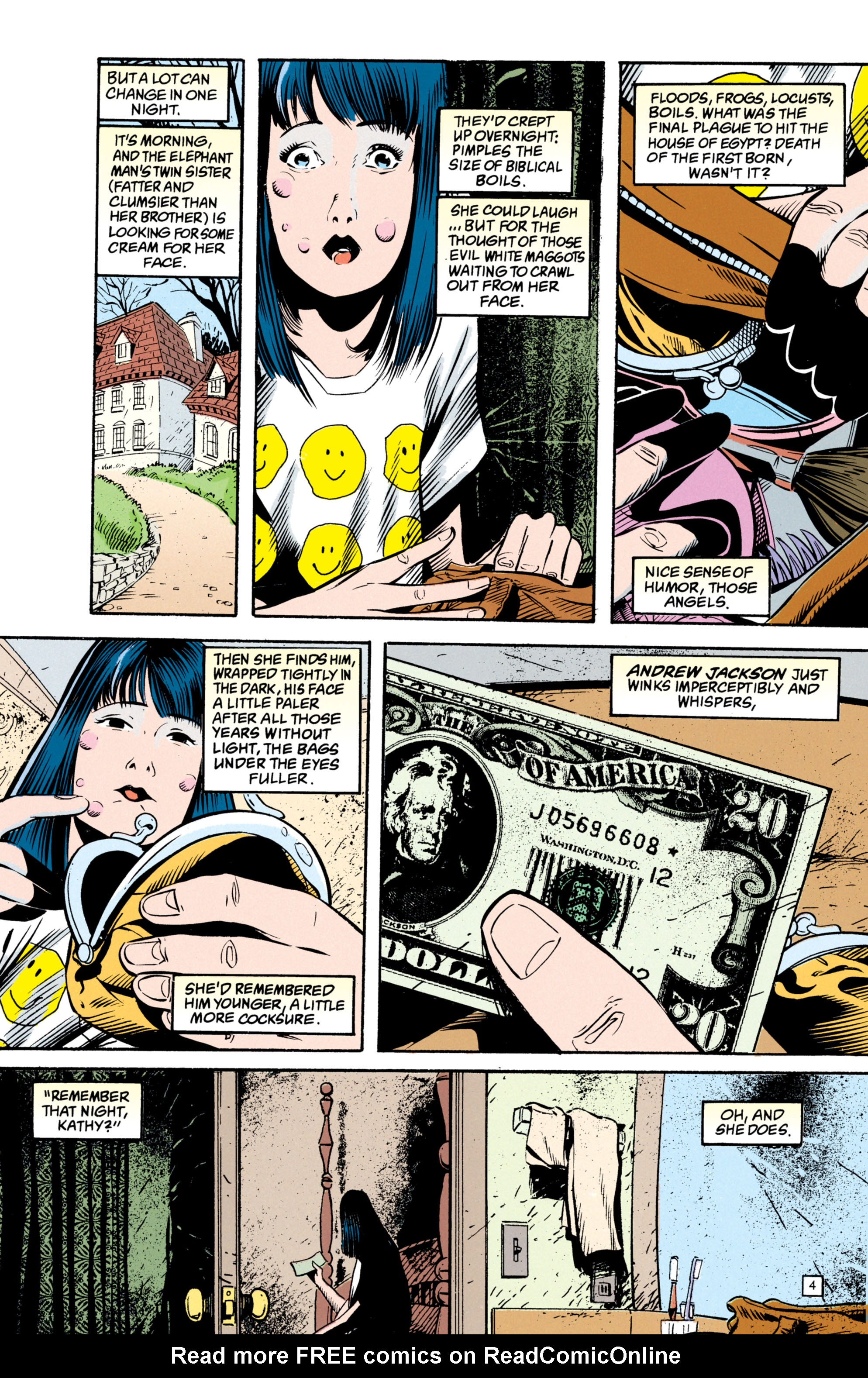Read online Shade, the Changing Man comic -  Issue #49 - 5