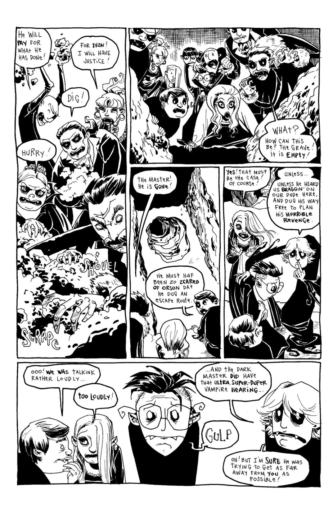 Read online Scary Godmother Comic Book Stories comic -  Issue # TPB - 234