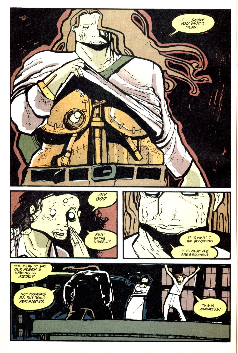 Read online Ted McKeever's Metropol comic -  Issue #8 - 6