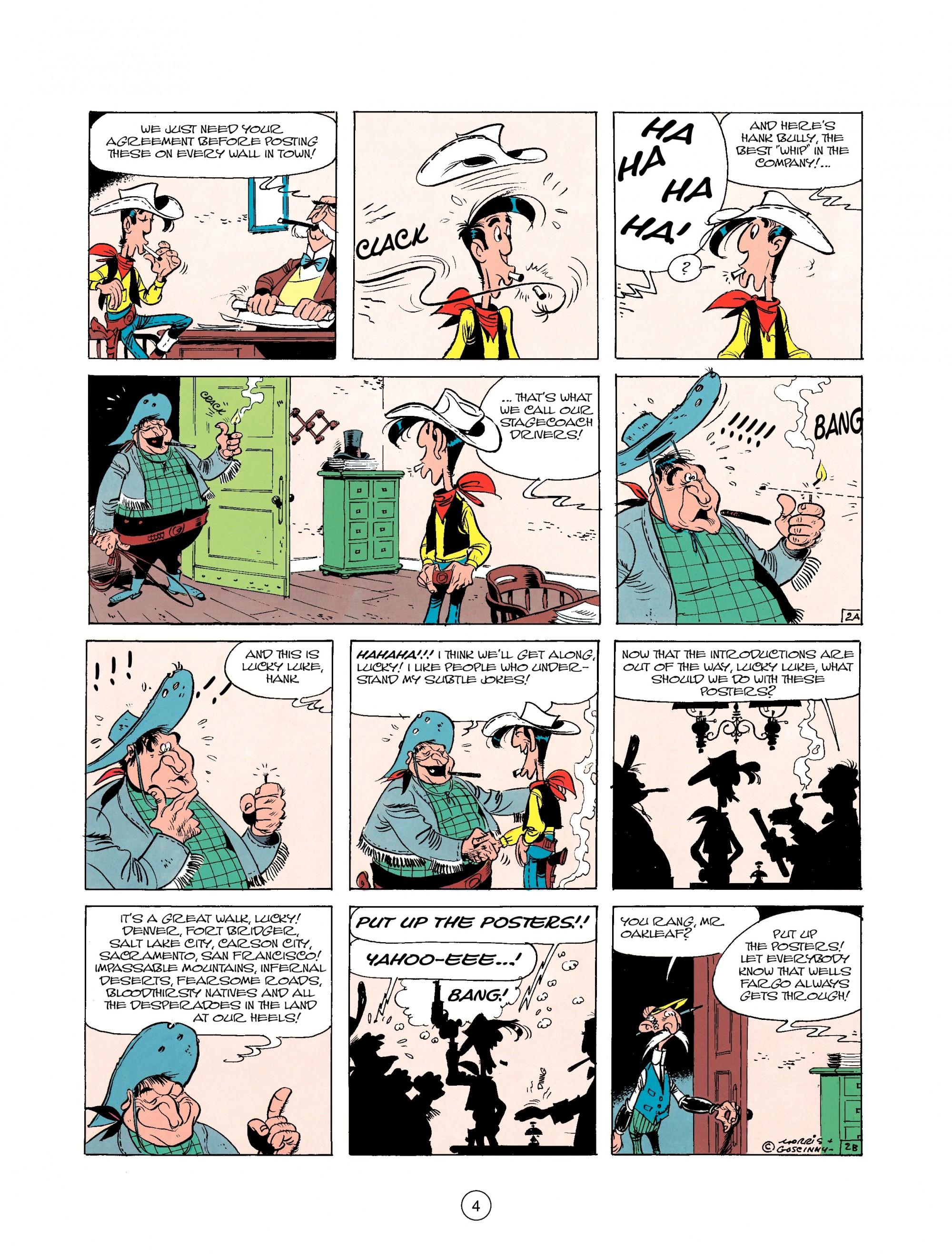 Read online A Lucky Luke Adventure comic -  Issue #25 - 4