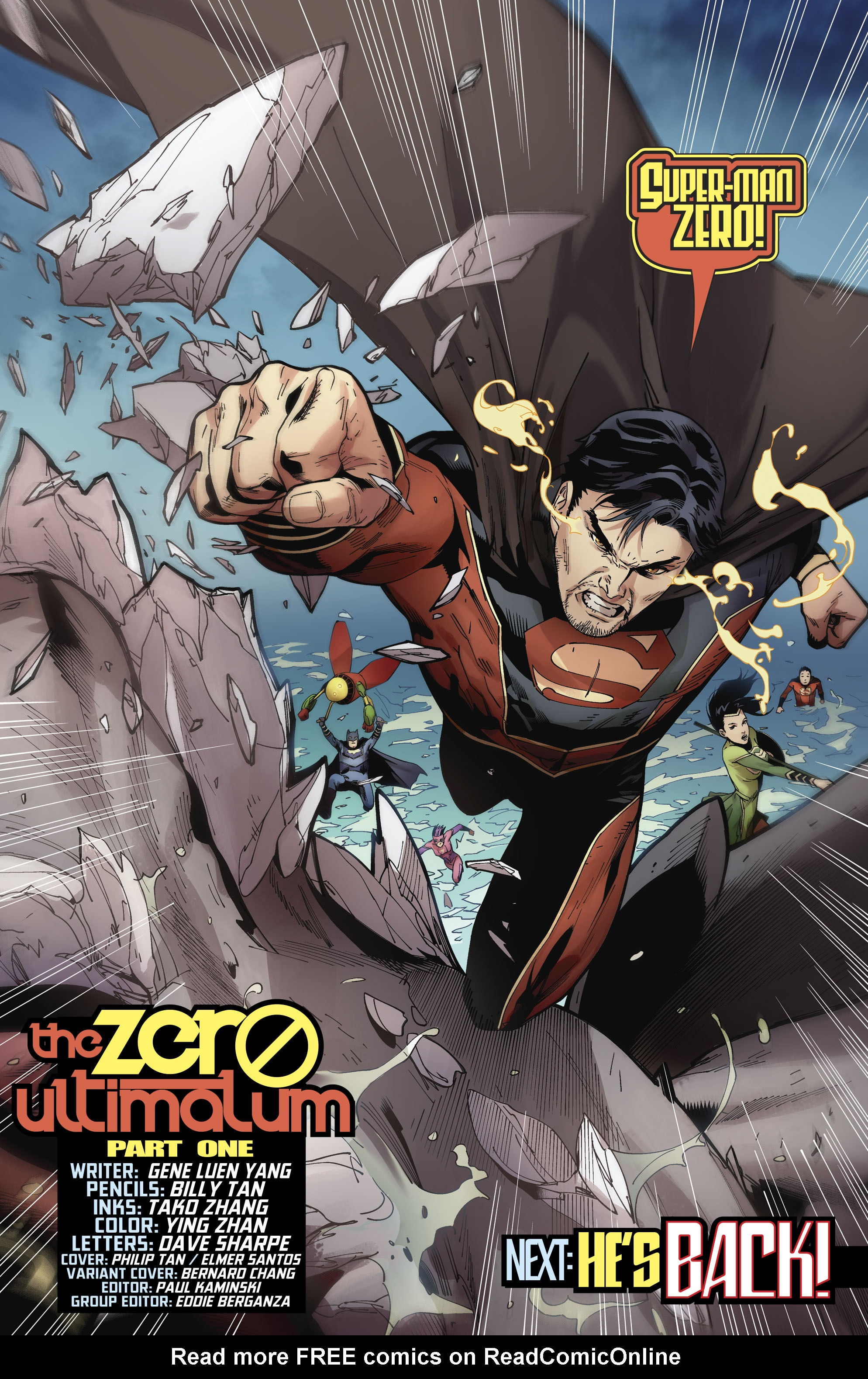 Read online New Super-Man comic -  Issue #11 - 22